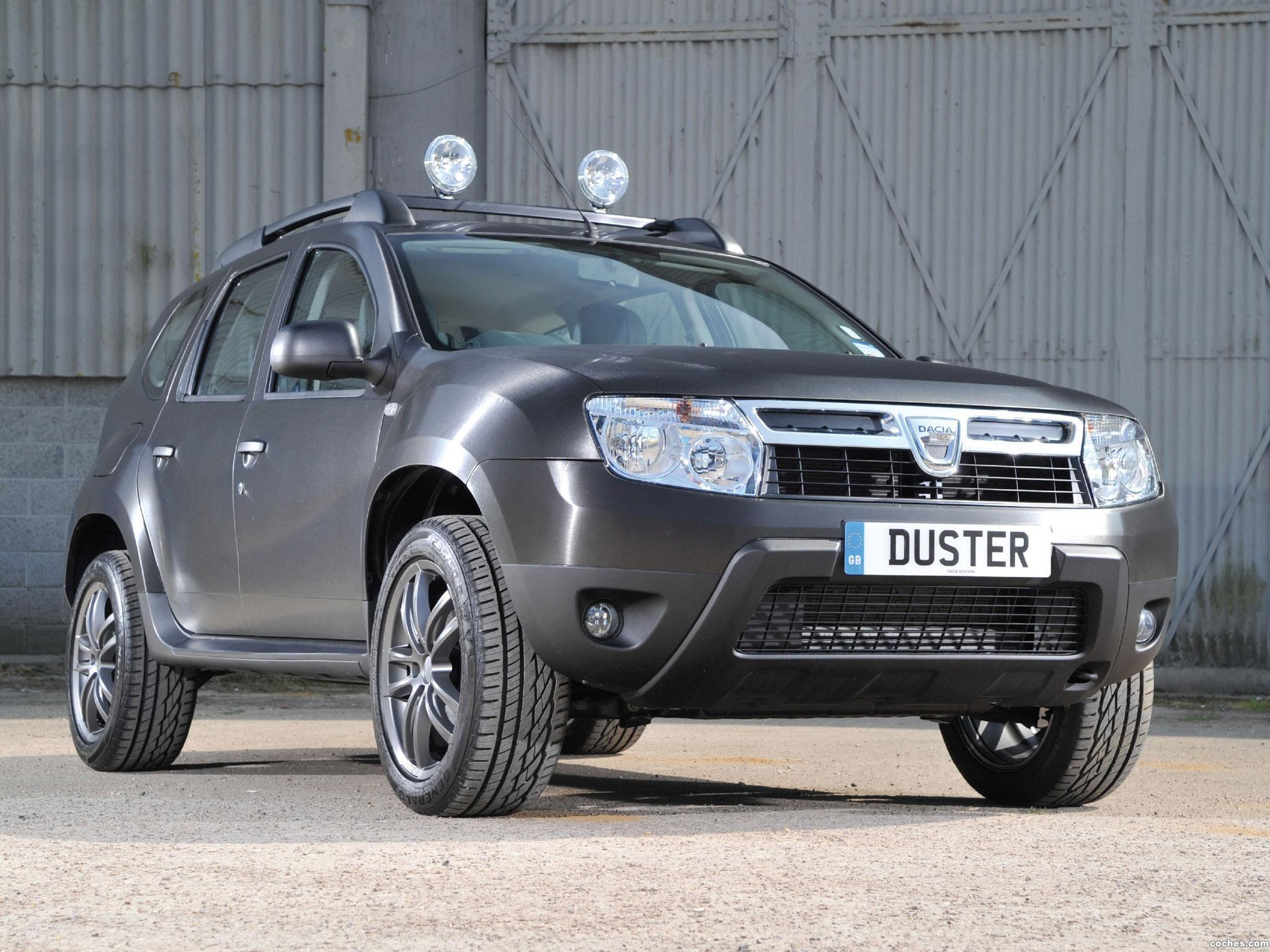 Foto 0 de Dacia Duster Black Edition UK 2013