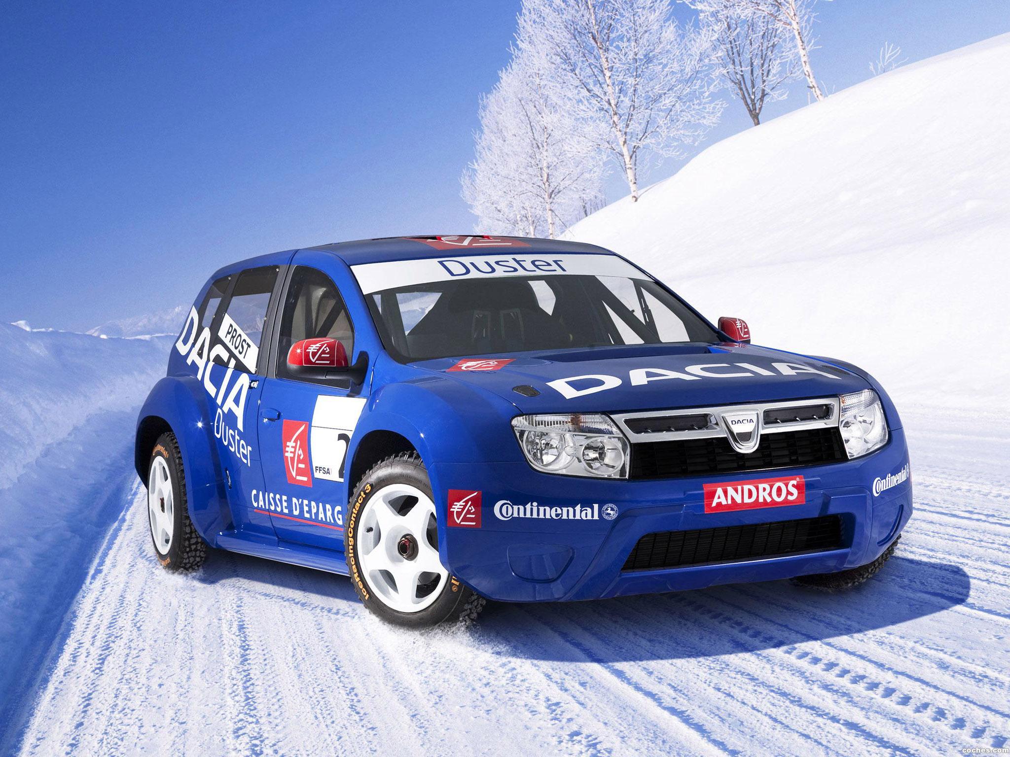Foto 0 de Dacia Duster Competition Version Trophee Andros 2009
