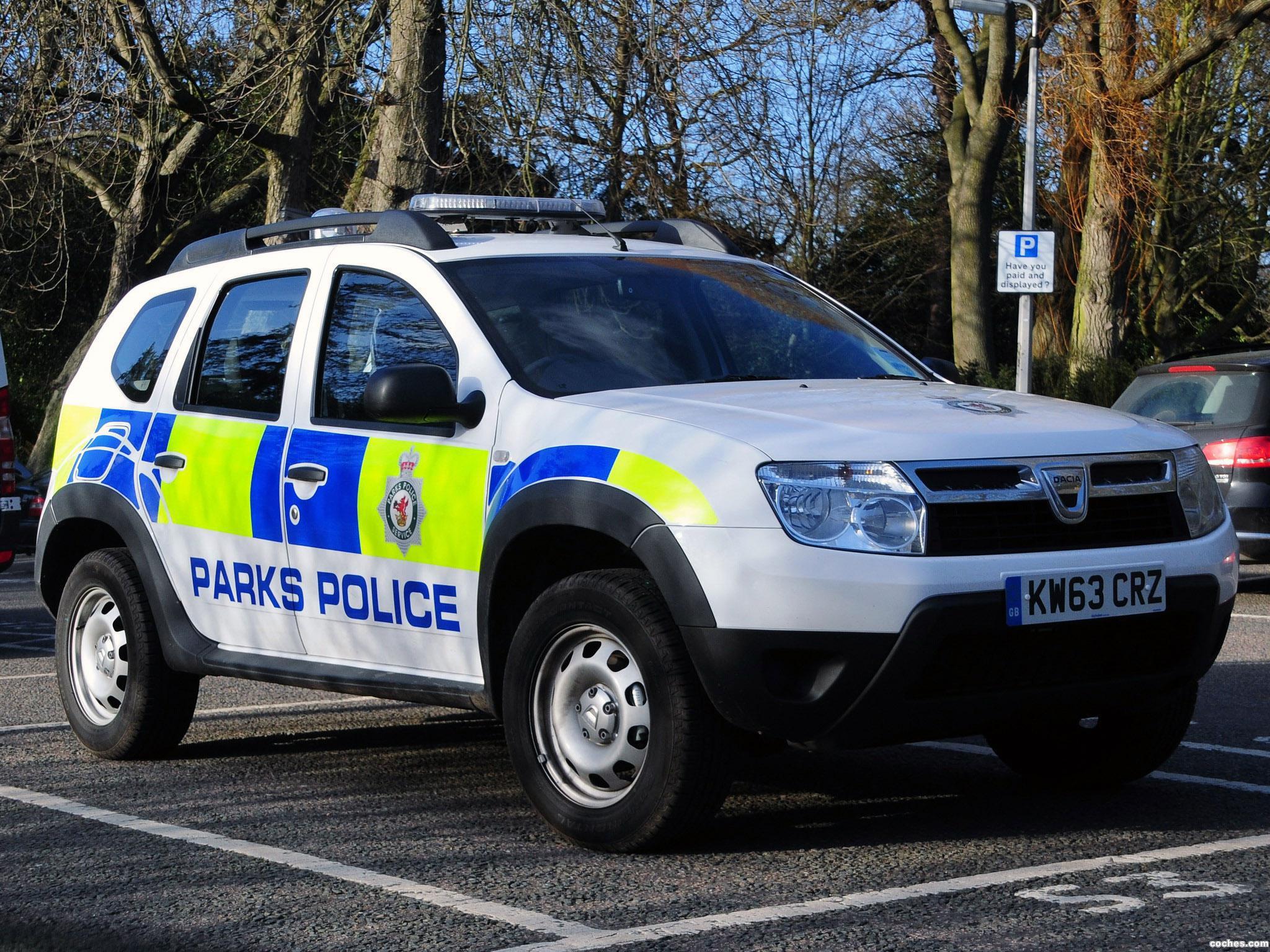Foto 0 de Dacia Duster Parks Police 2013