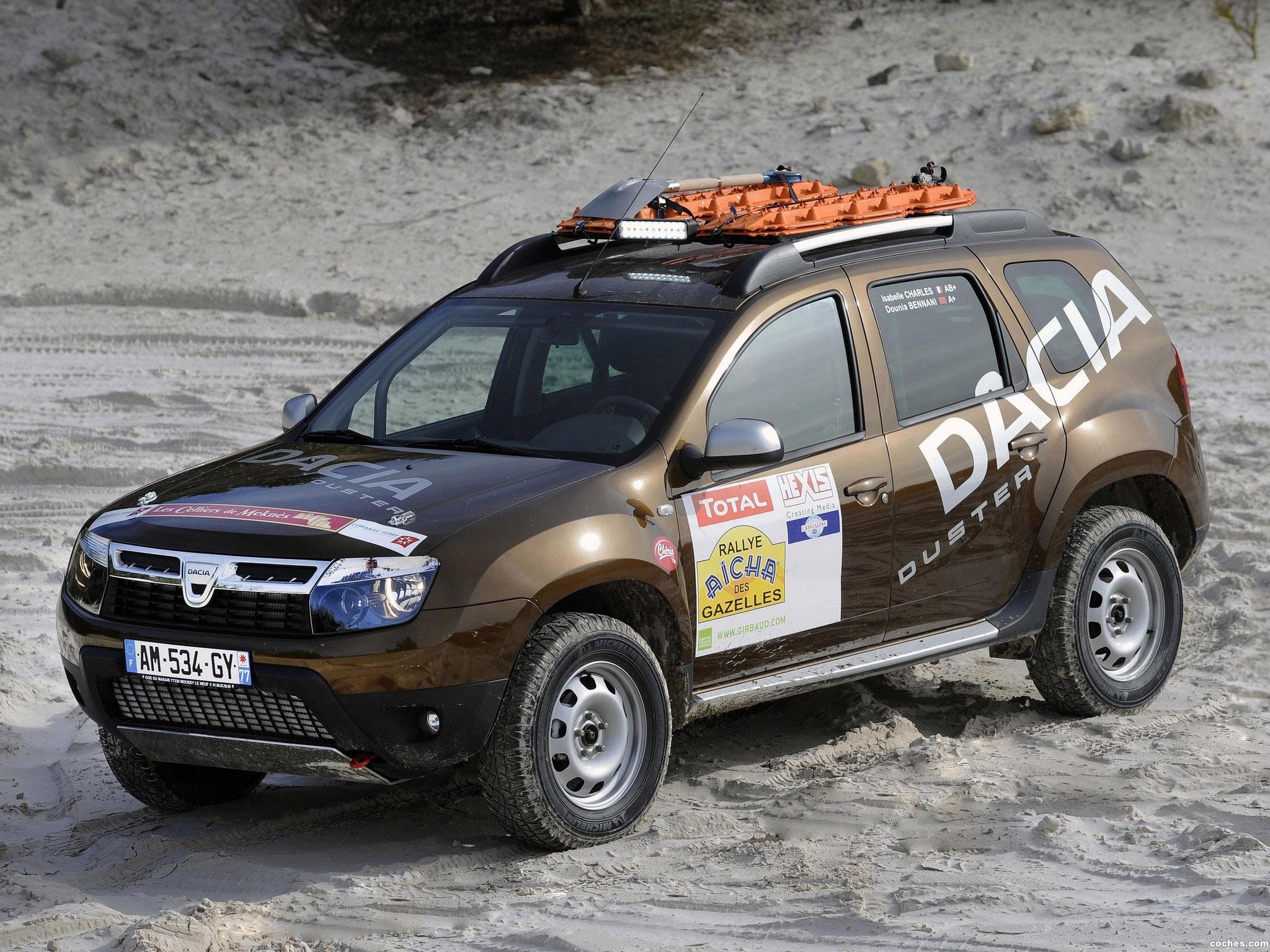 Foto 0 de Dacia Duster Rallye Aicha Des Gazelles 2010