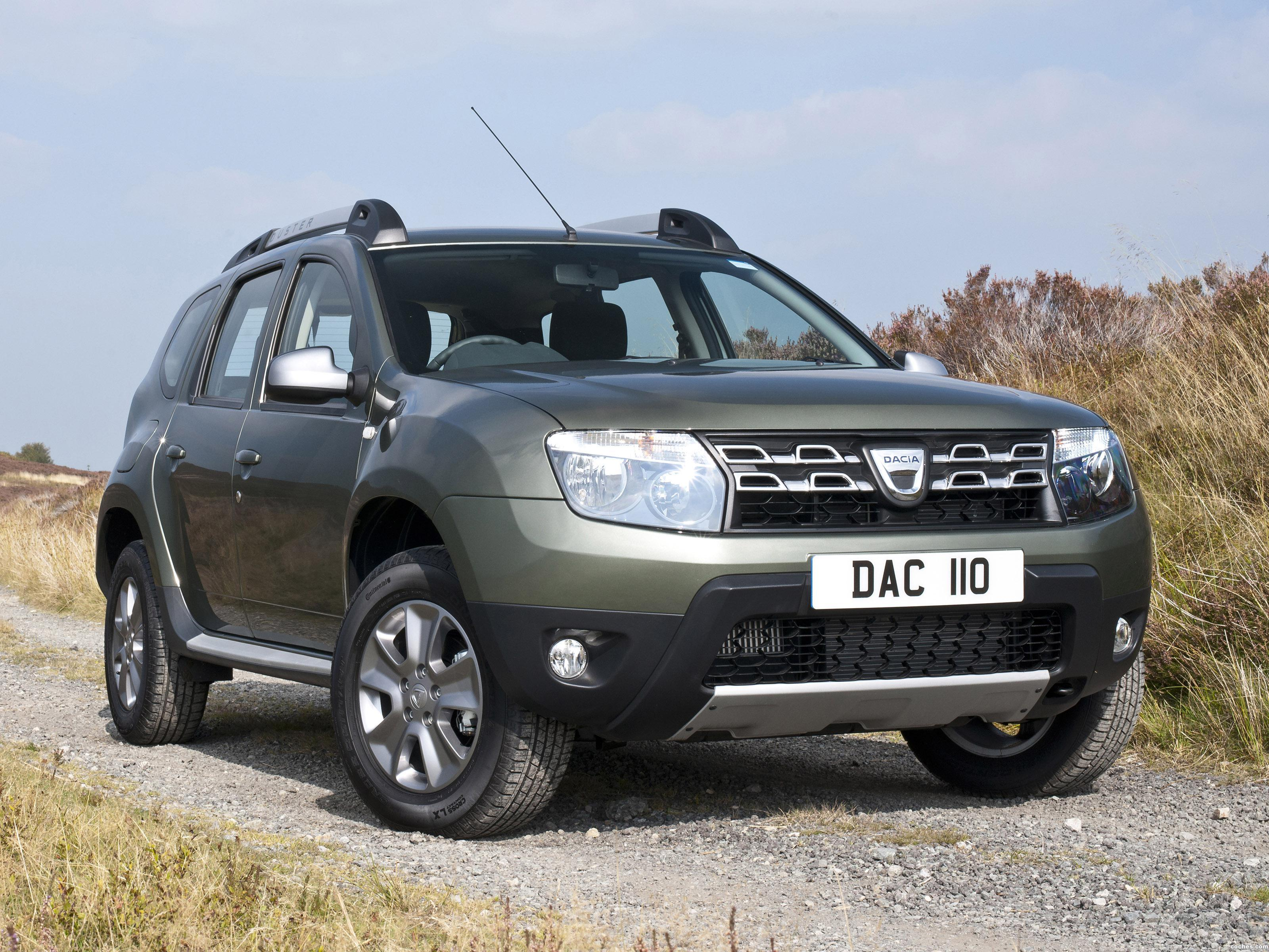 Foto 0 de Dacia Duster UK 2014