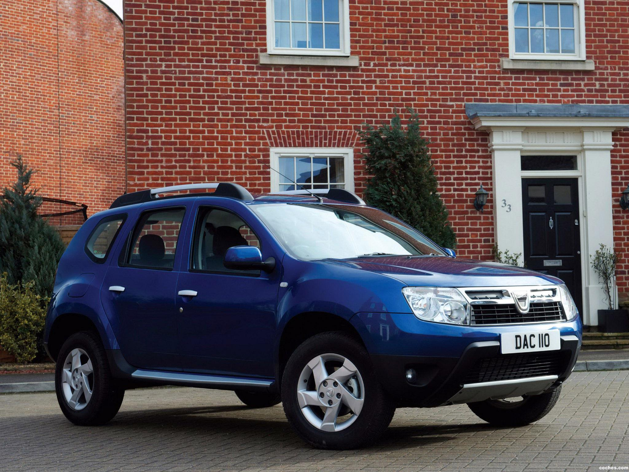 Foto 2 de Dacia Duster UK 2013