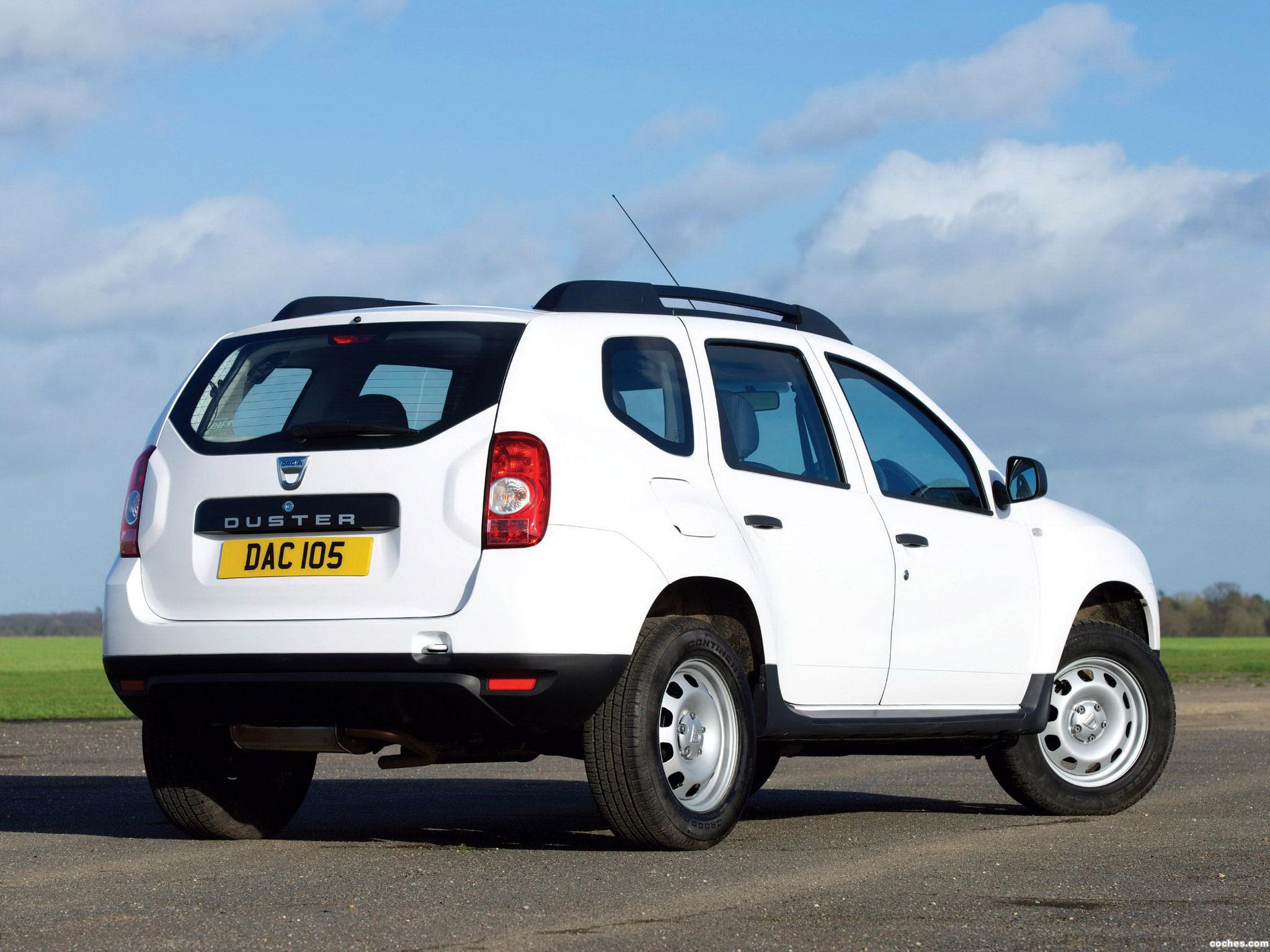 Foto 1 de Dacia Duster UK 2013