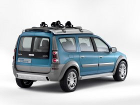 Ver foto 3 de Dacia Logan Steppe Concept Genf 2006