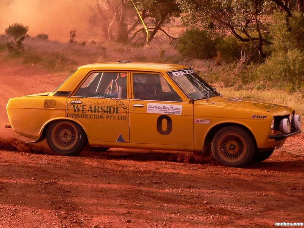 Foto 1 de Datsun 1600 Rally Car 1968