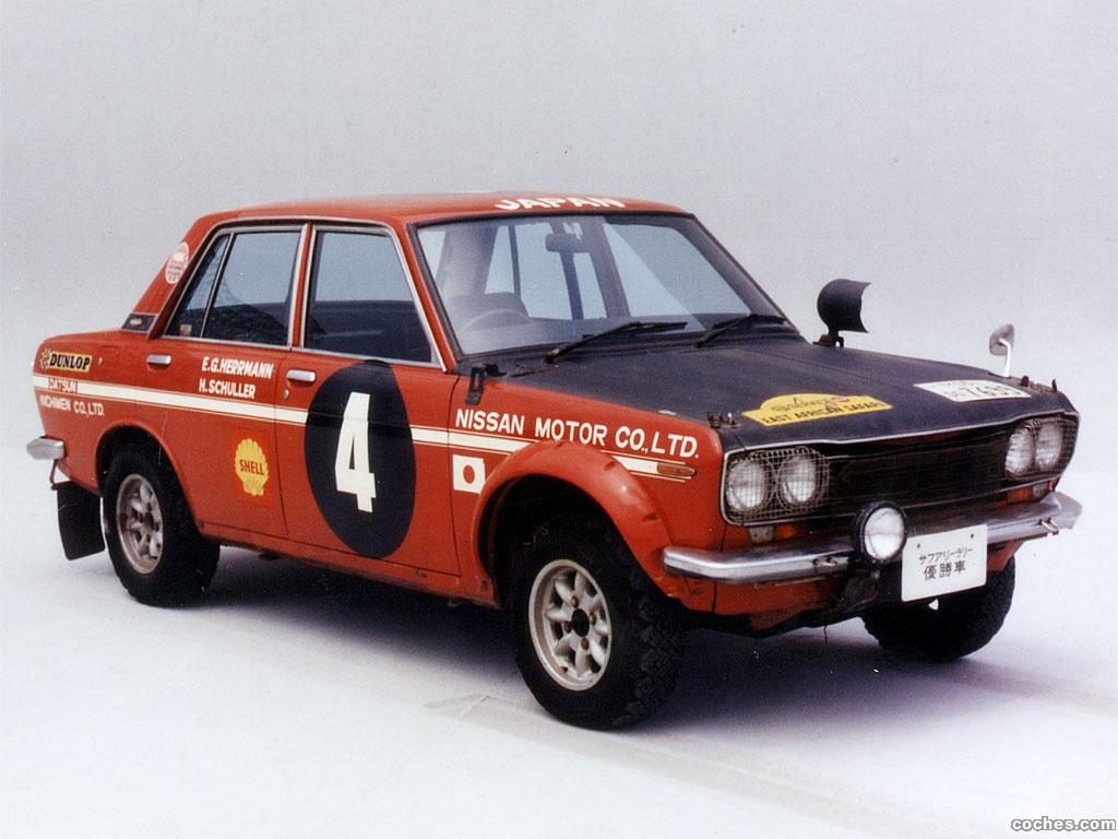 Foto 0 de Datsun 1600 Rally Car 1968