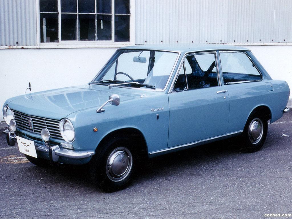 Foto 8 de Datsun Sunny 2 puertas Sedan 1966