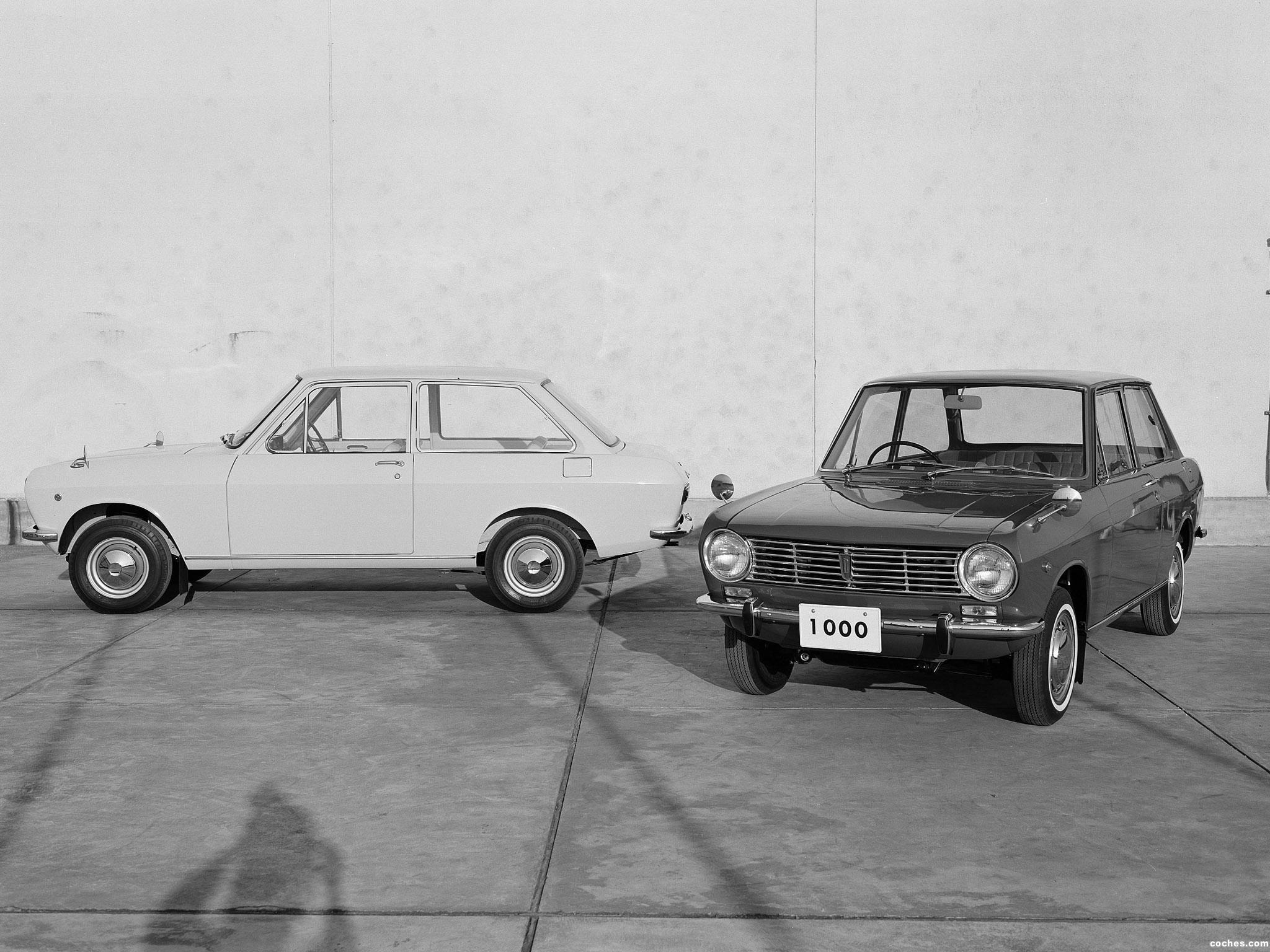 Foto 7 de Datsun Sunny 2 puertas Sedan 1966