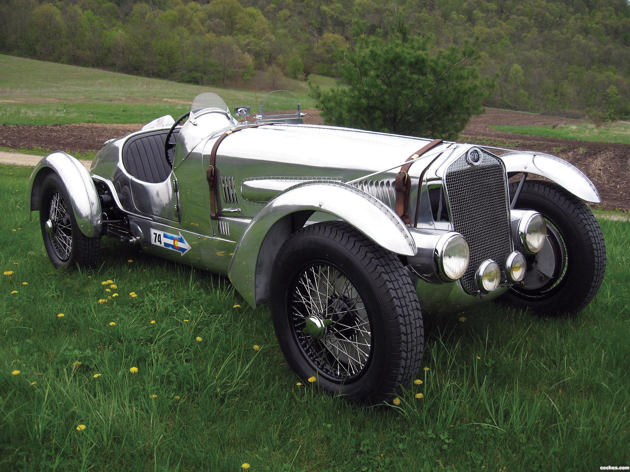 Foto 0 de Delage D6-3L Grand Prix Race Car 1937