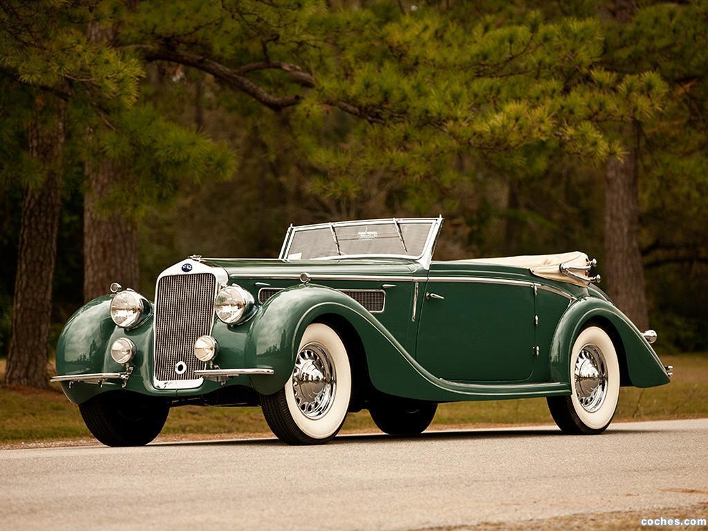 Foto 0 de Delage D8 120 Chapron Cabriolet 1936