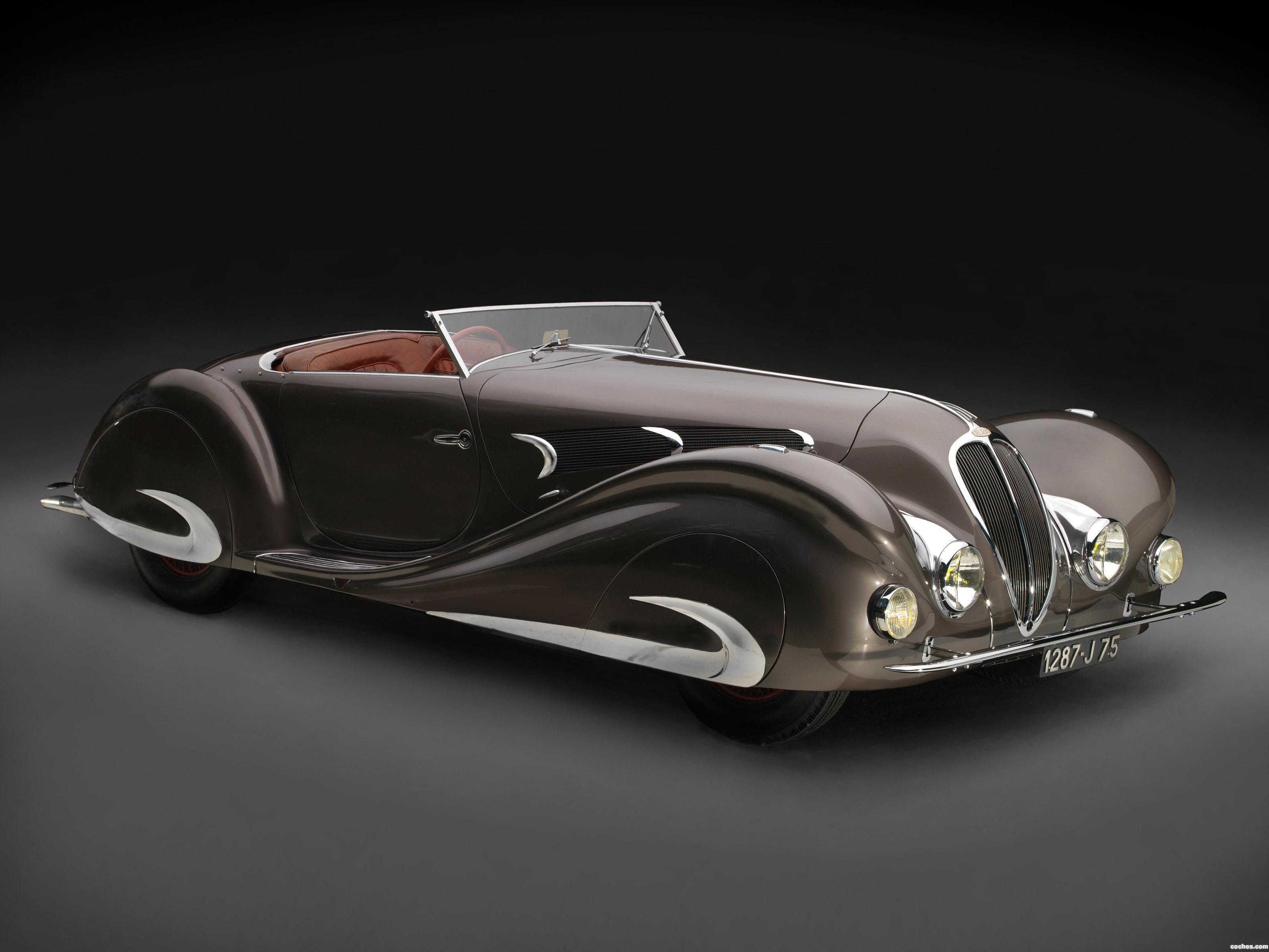 Foto 0 de Delahaye 135 MS Special Roadster by Figoni et Falaschi 1937