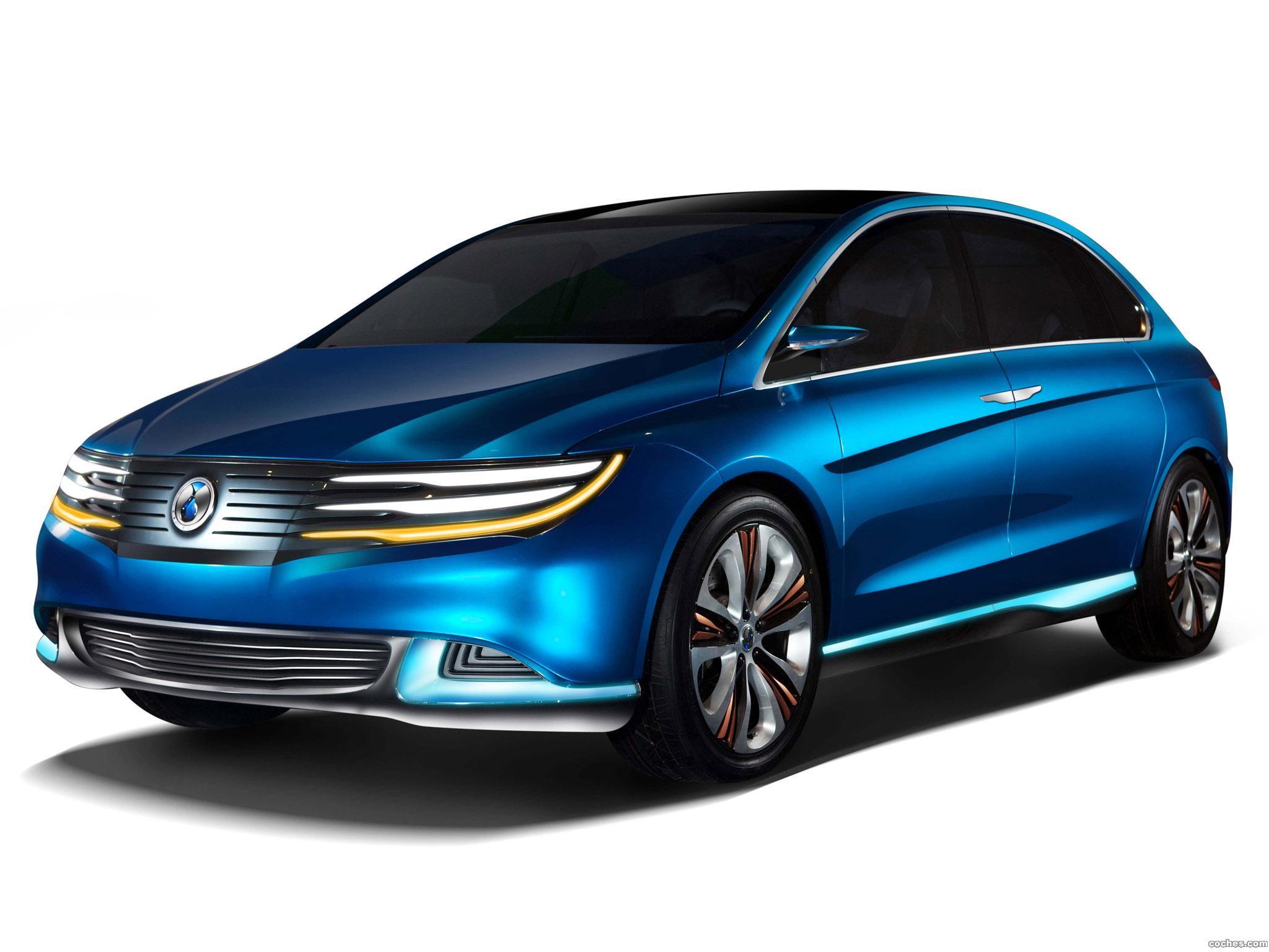 Foto 0 de Denza All Electric Concept Car 2012
