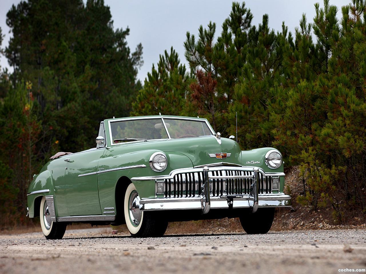 Foto 0 de DeSoto Custom Convertible Coupe 1949