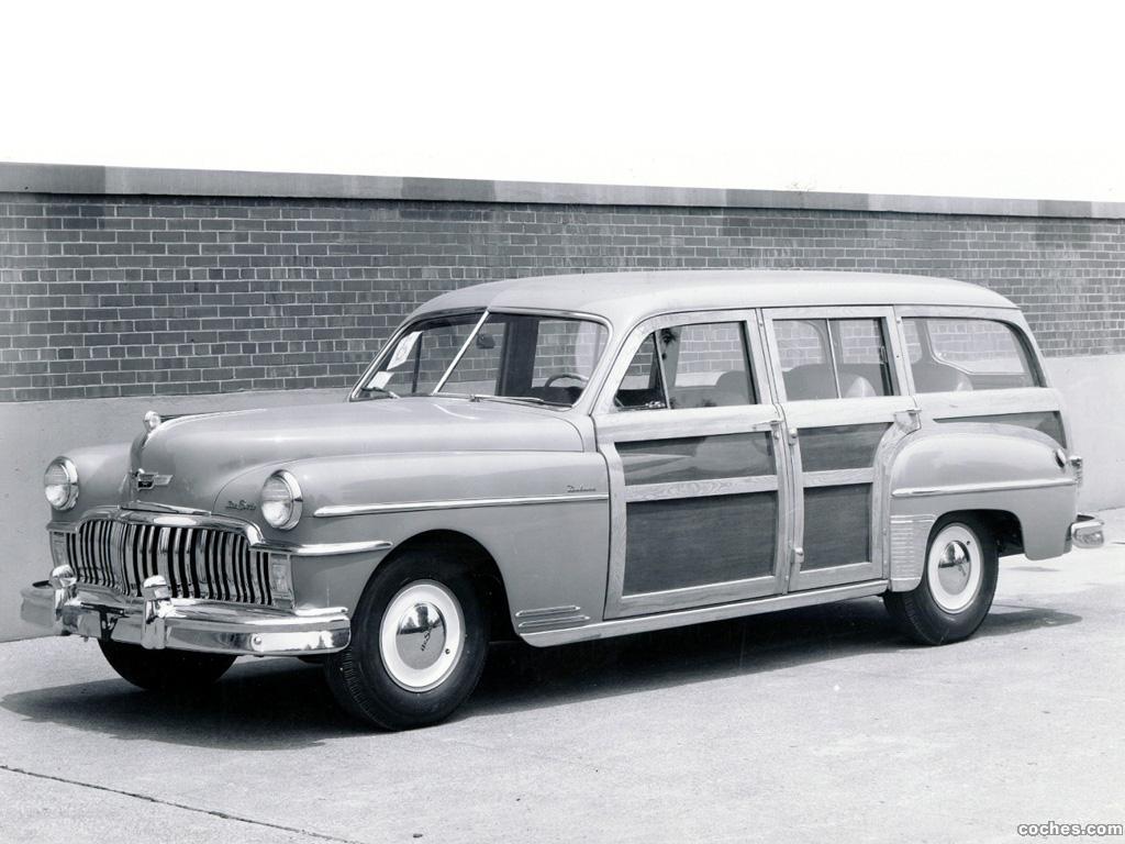 Foto 0 de DeSoto Deluxe Station Wagon 1949