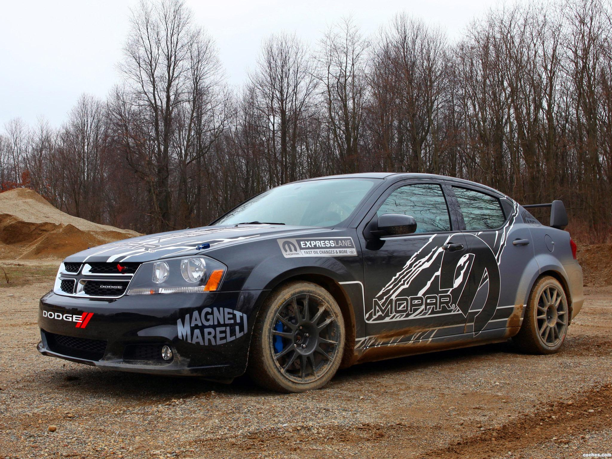 Foto 0 de Dodge Avenger Mopar Rally Car 2011