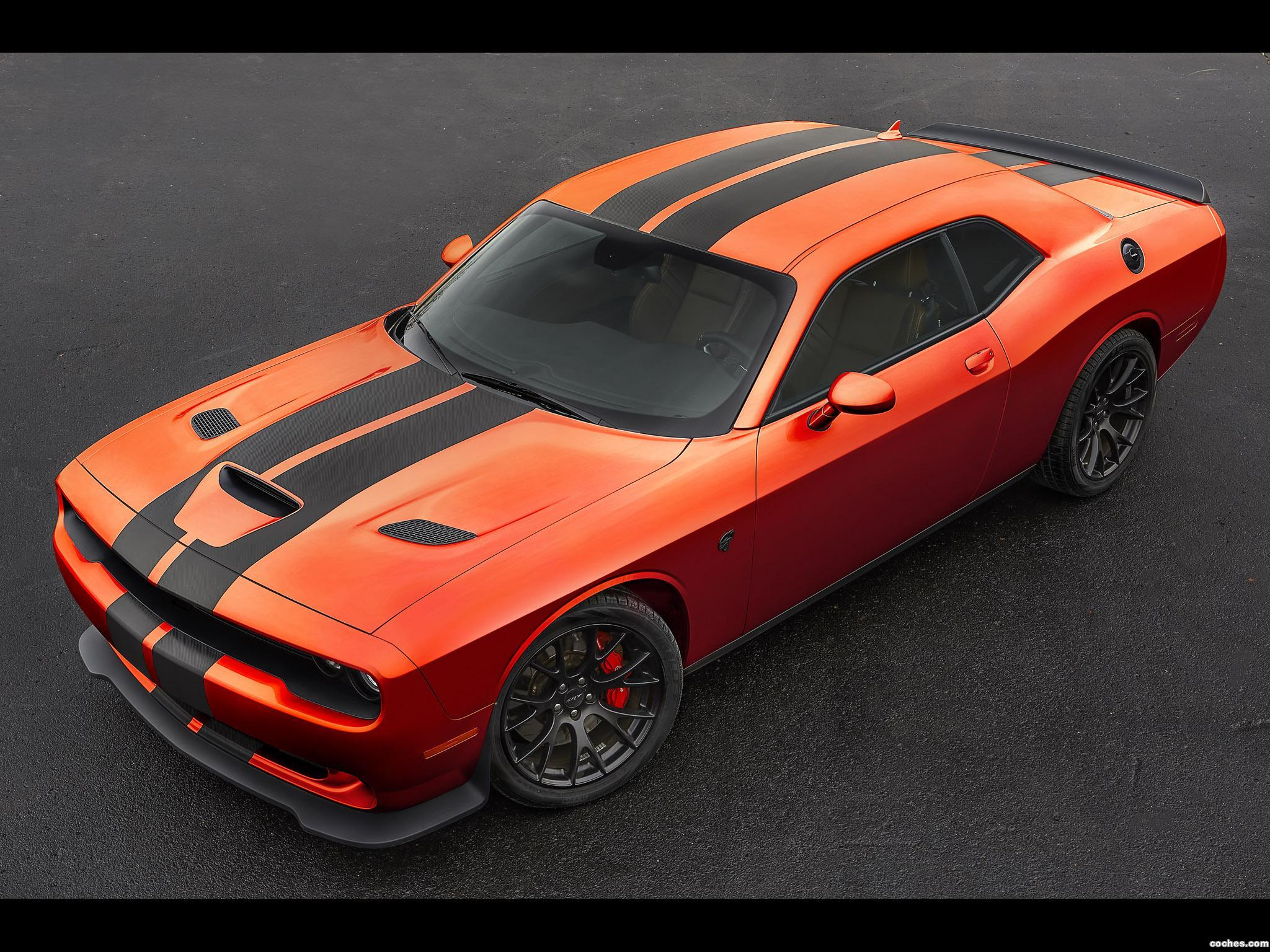 Foto 0 de Dodge Challenger SRT Hellcat Go Mango 2016