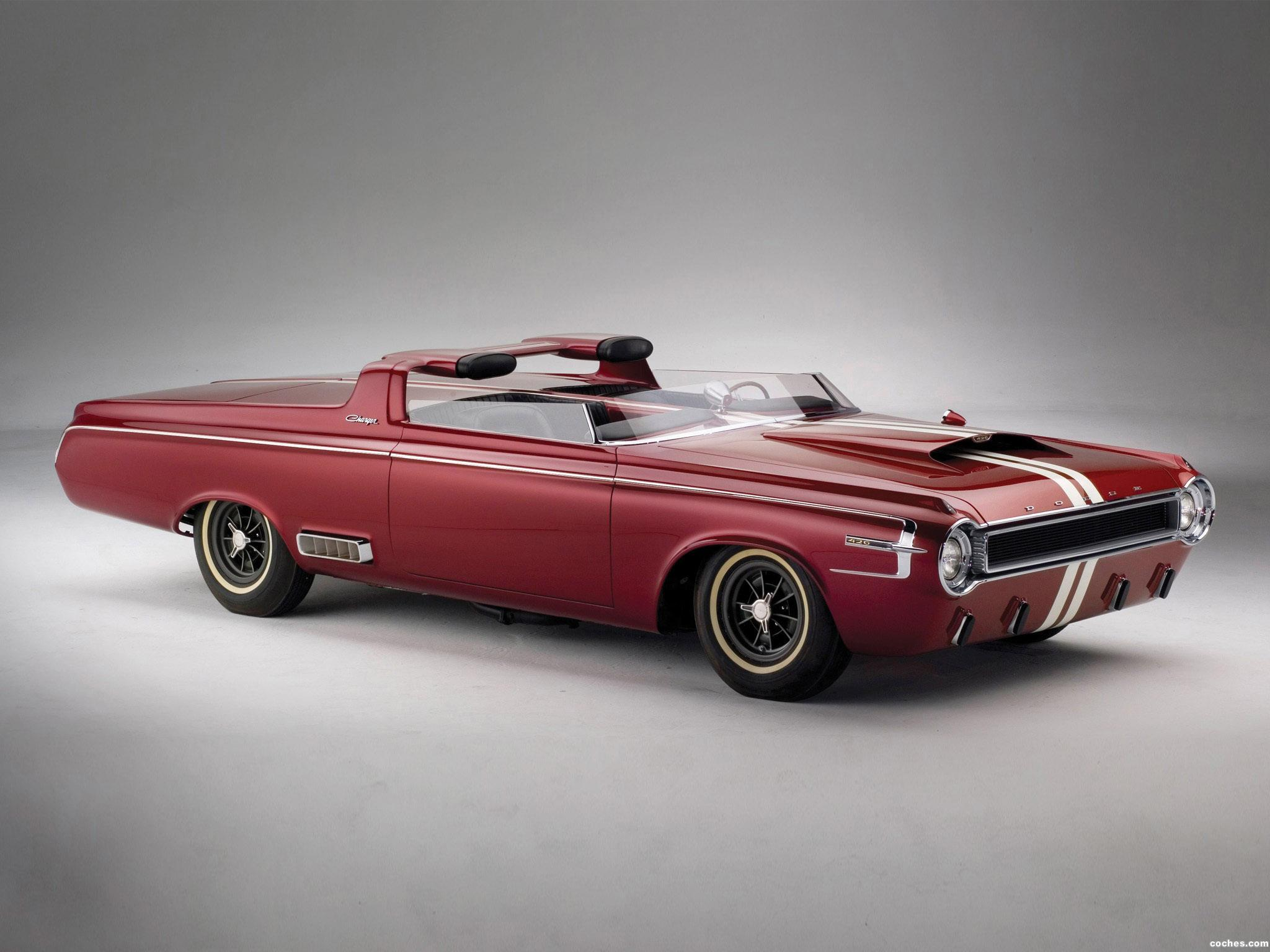Foto 0 de Dodge Charger Roadster Concept Car 1964