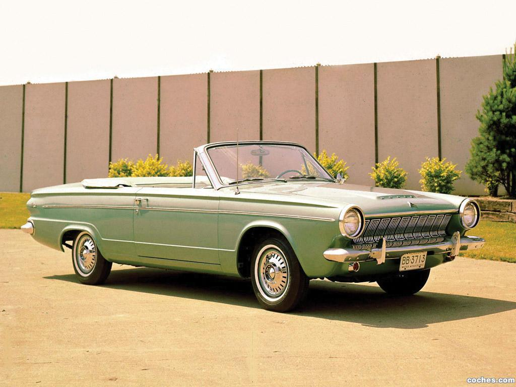 Foto 0 de Dodge Dart Convertible 1963