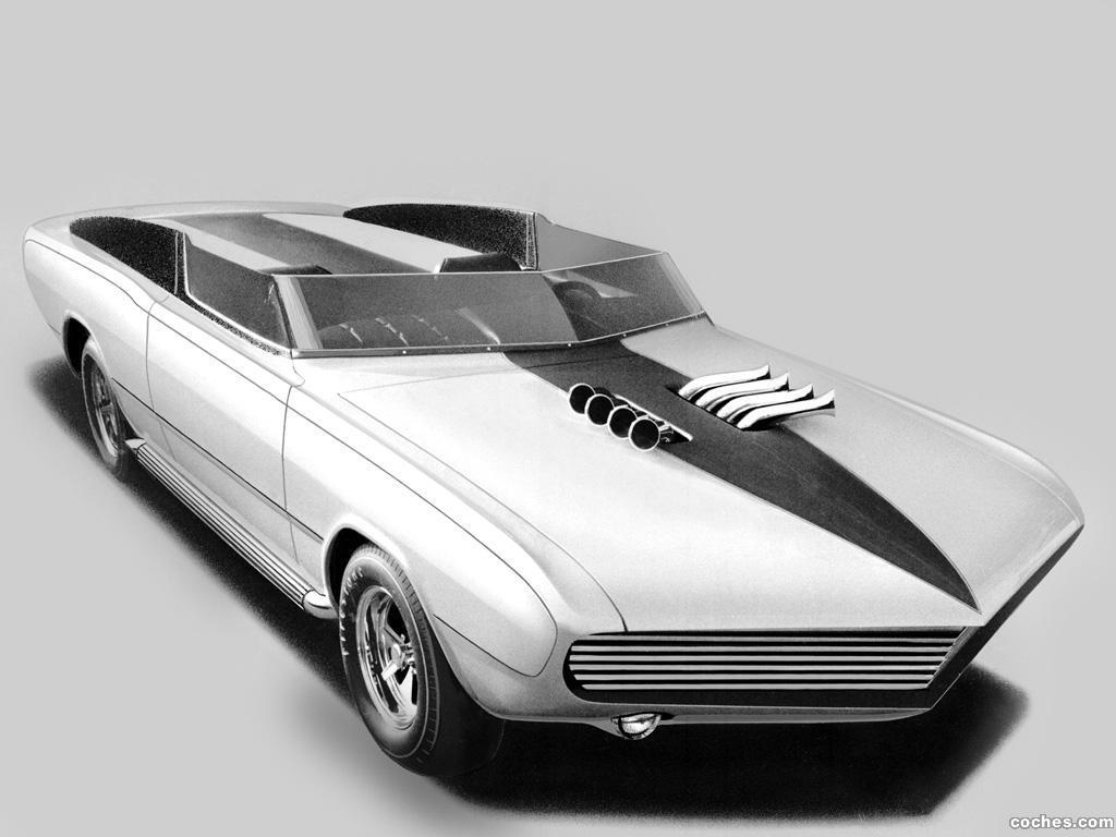 Foto 0 de Dodge Dart GT Convertible Daroo I Concept Car 1967