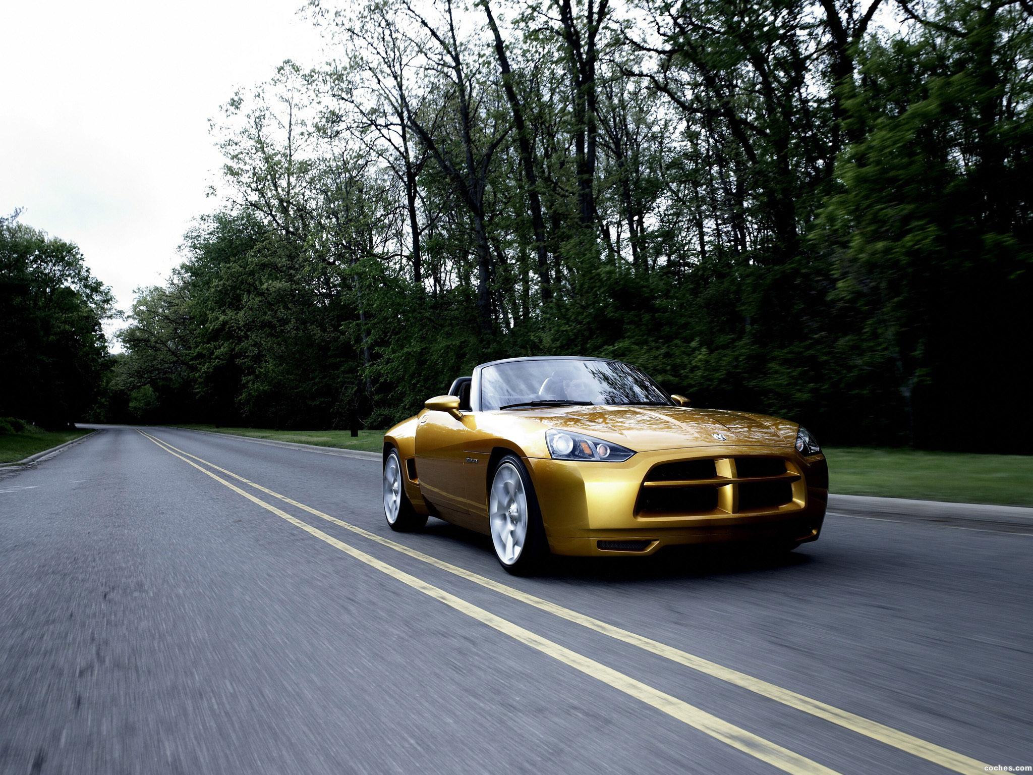 Foto 10 de Dodge Demon Roadster Concept 2007