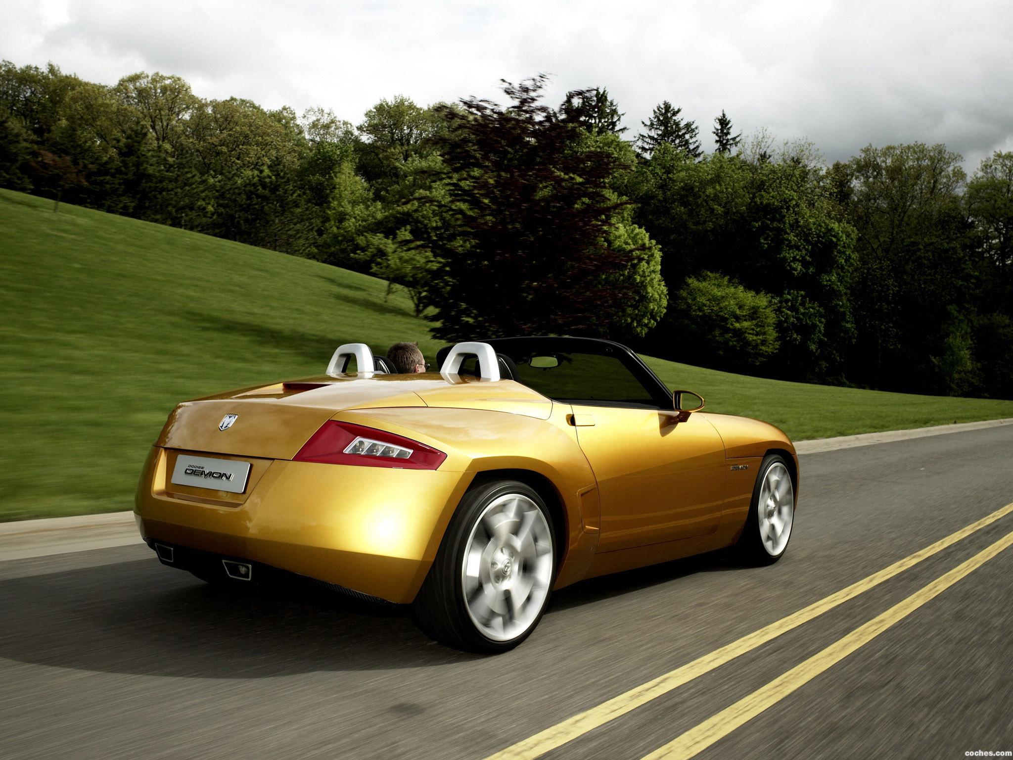 Foto 2 de Dodge Demon Roadster Concept 2007