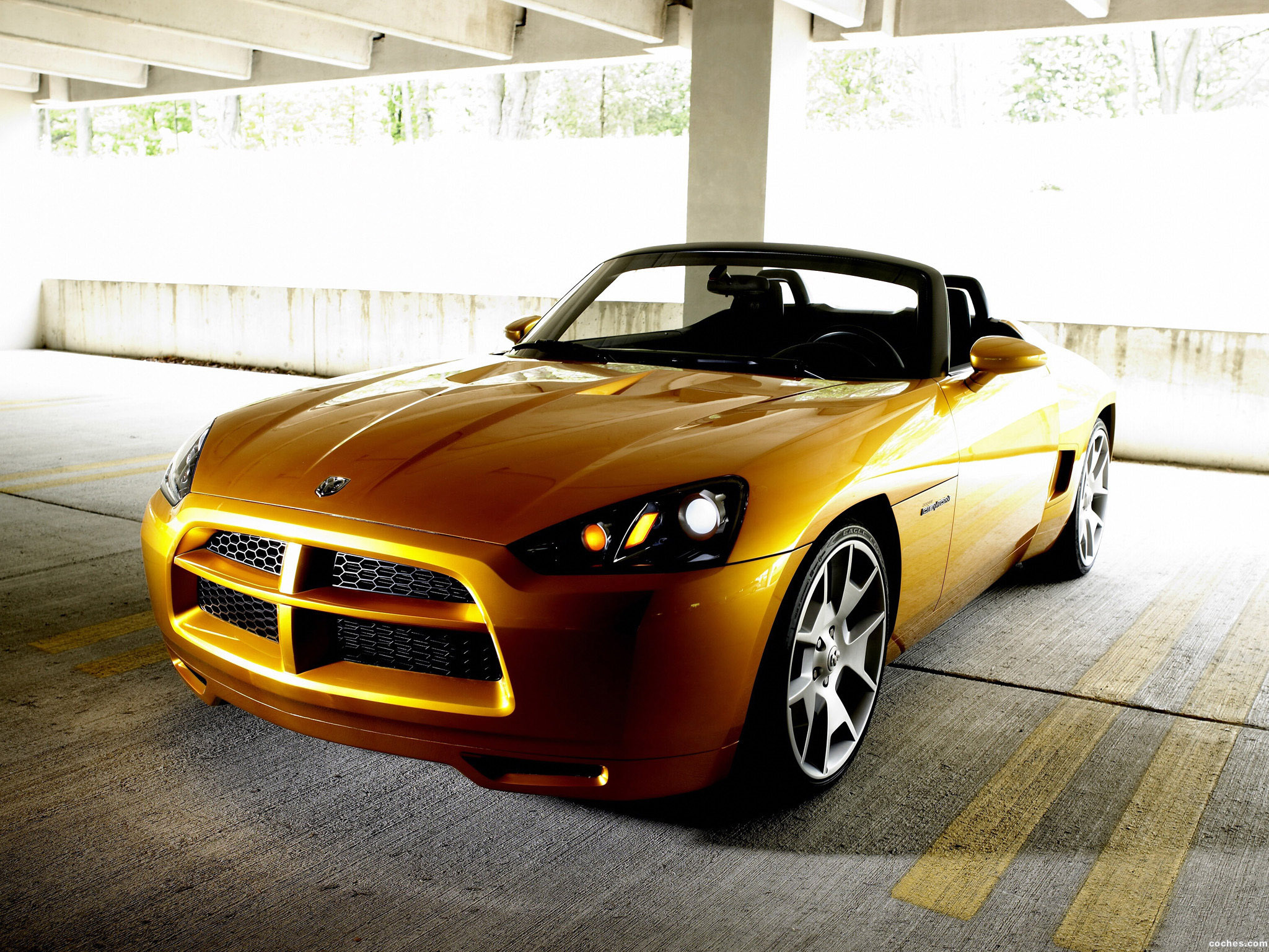 Foto 0 de Dodge Demon Roadster Concept 2007