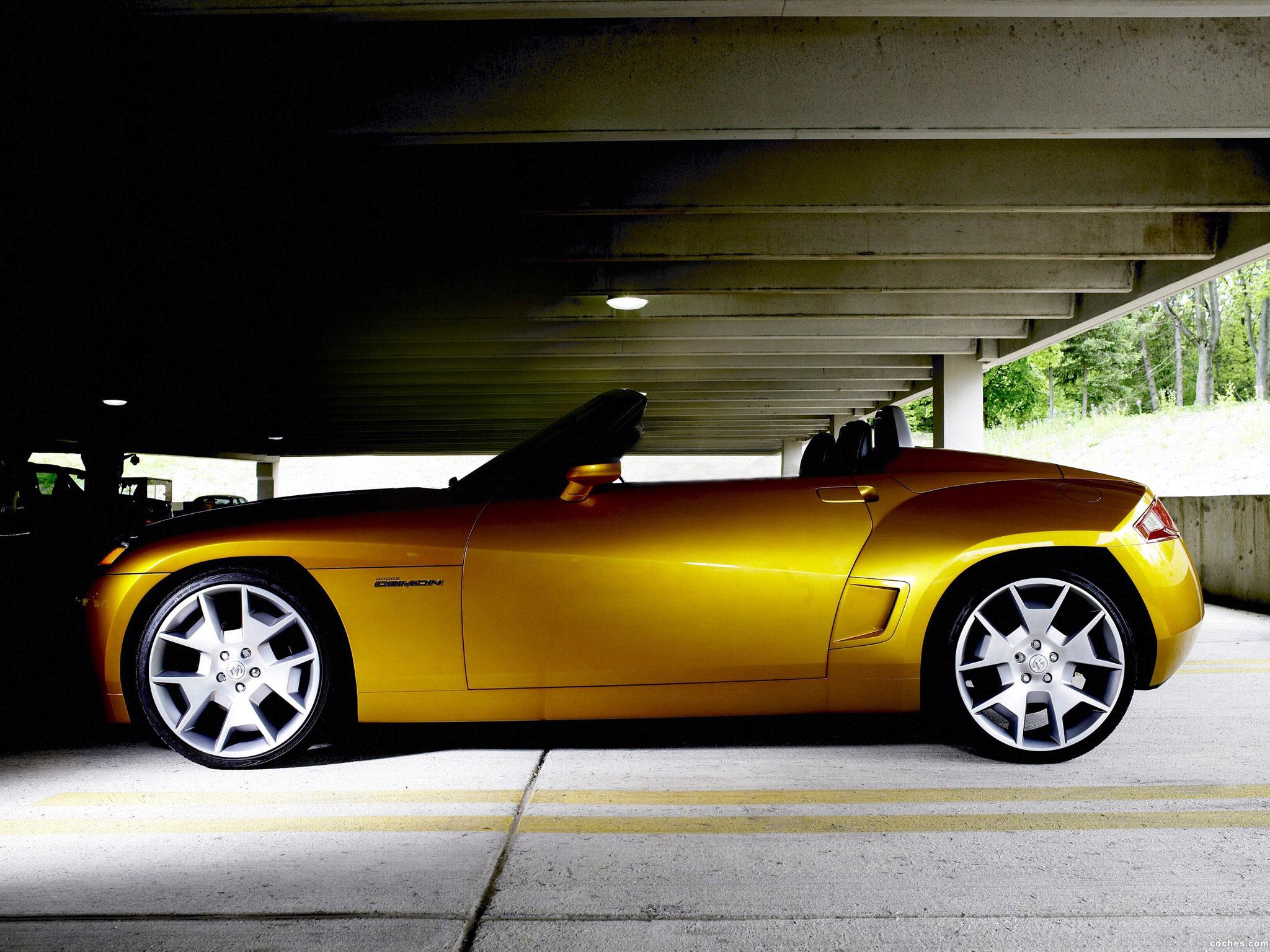 Foto 18 de Dodge Demon Roadster Concept 2007