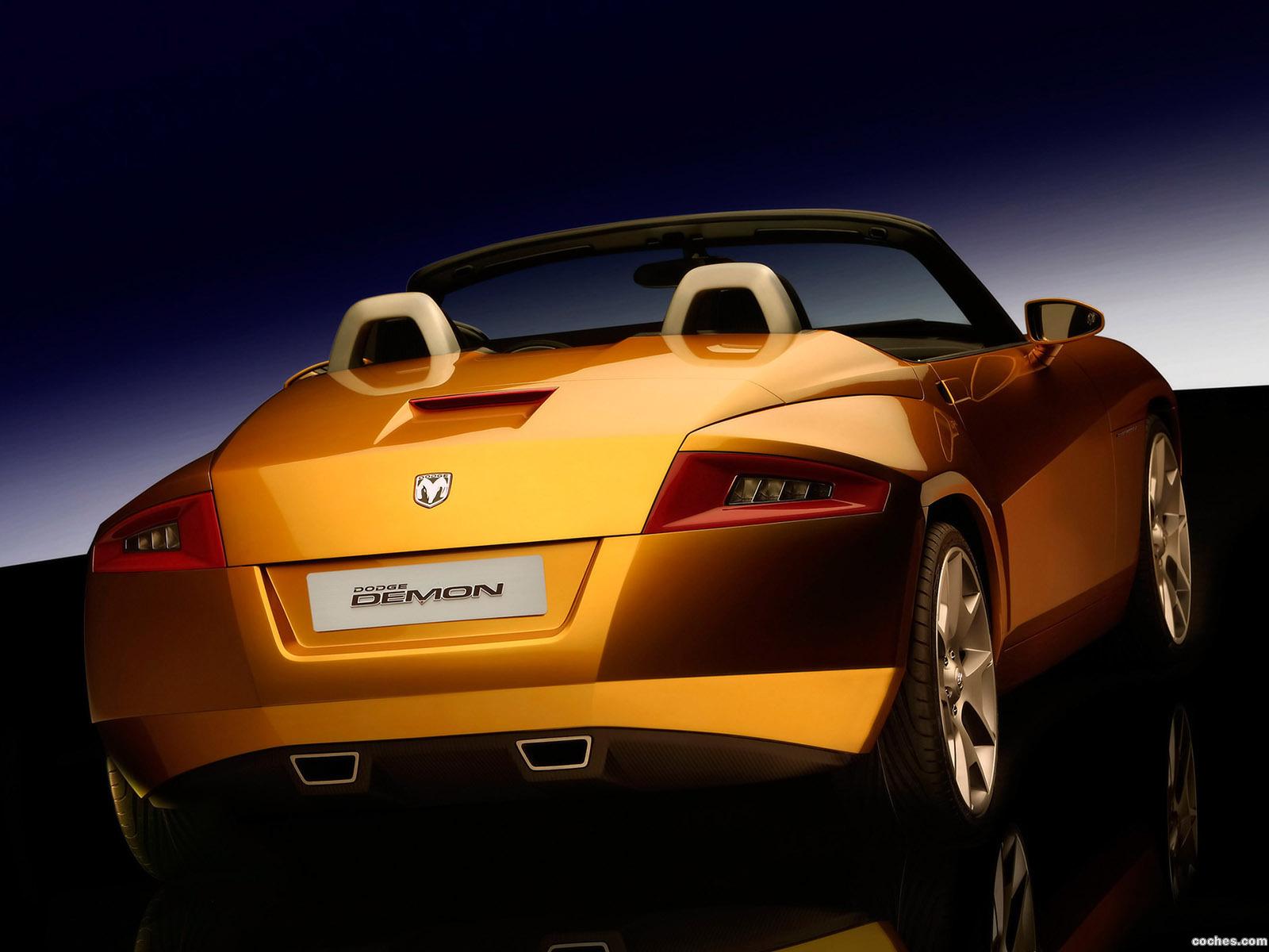 Foto 37 de Dodge Demon Roadster Concept 2007