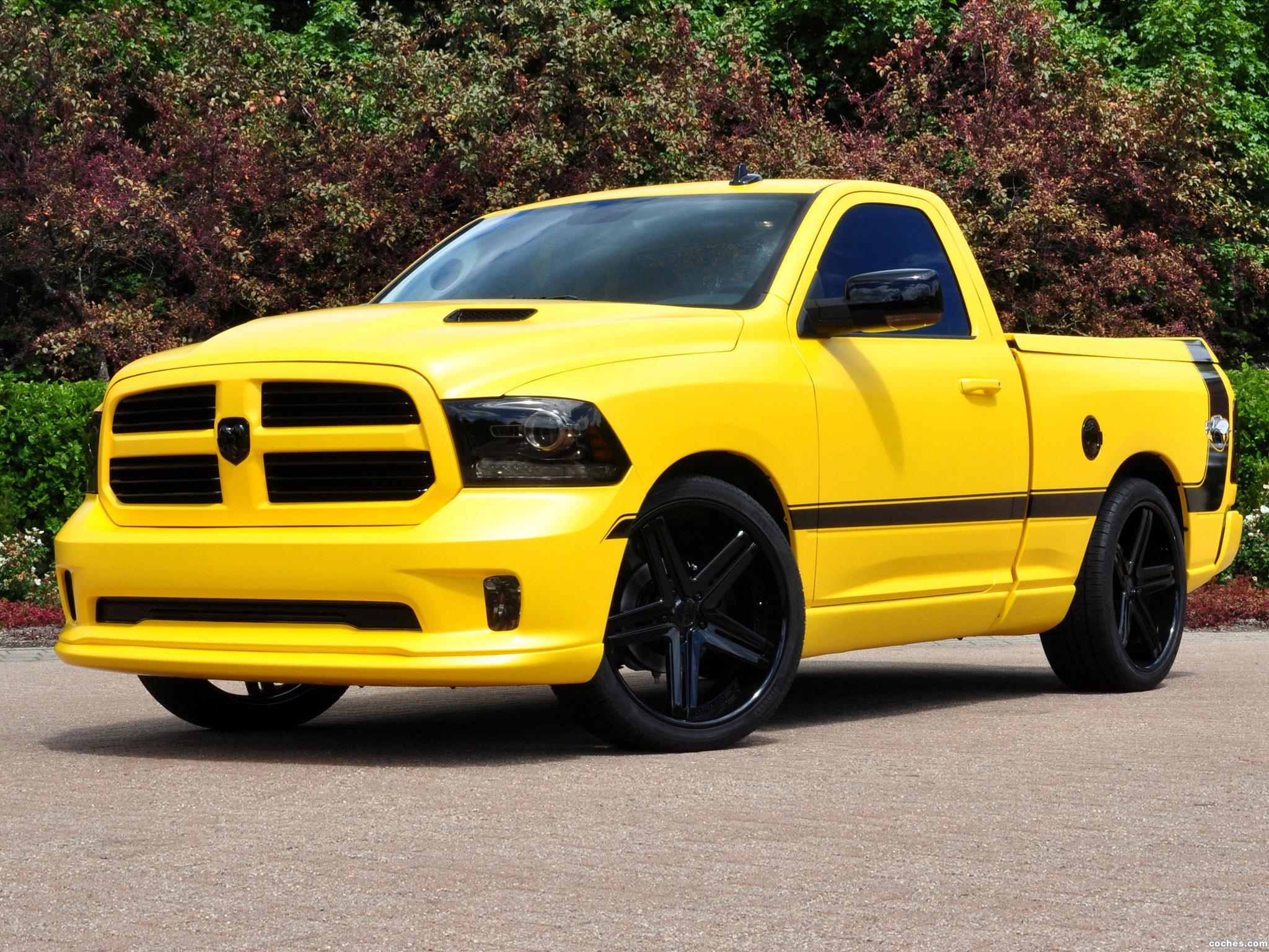 Foto 0 de Dodge Ram 1500 Rumble Bee Concept 2013