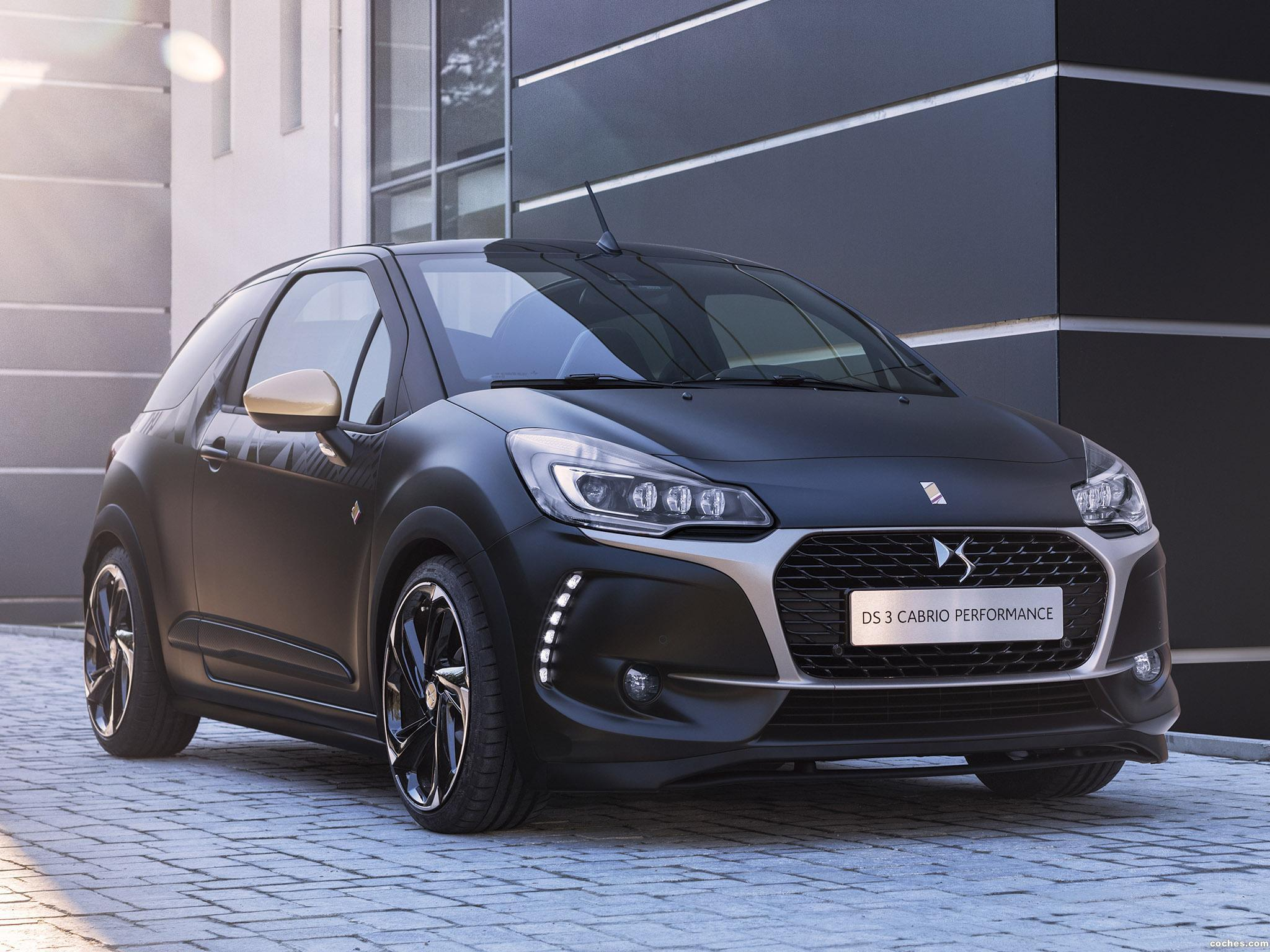 Foto 0 de Citroen DS 3 Cabrio Performance 2016
