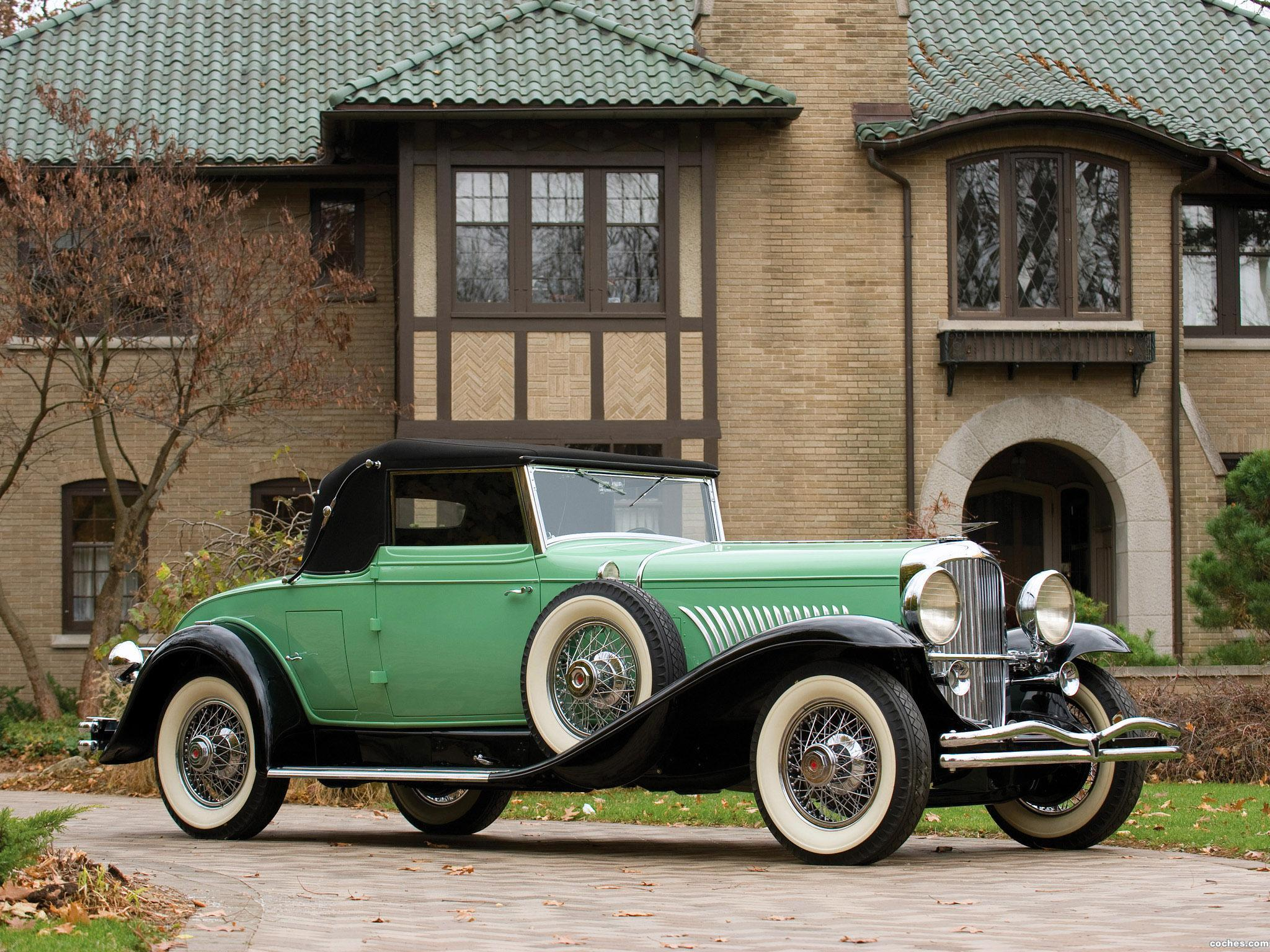 Foto 0 de Duesenberg J 417 Convertible Coupe by Fleetwood 1929