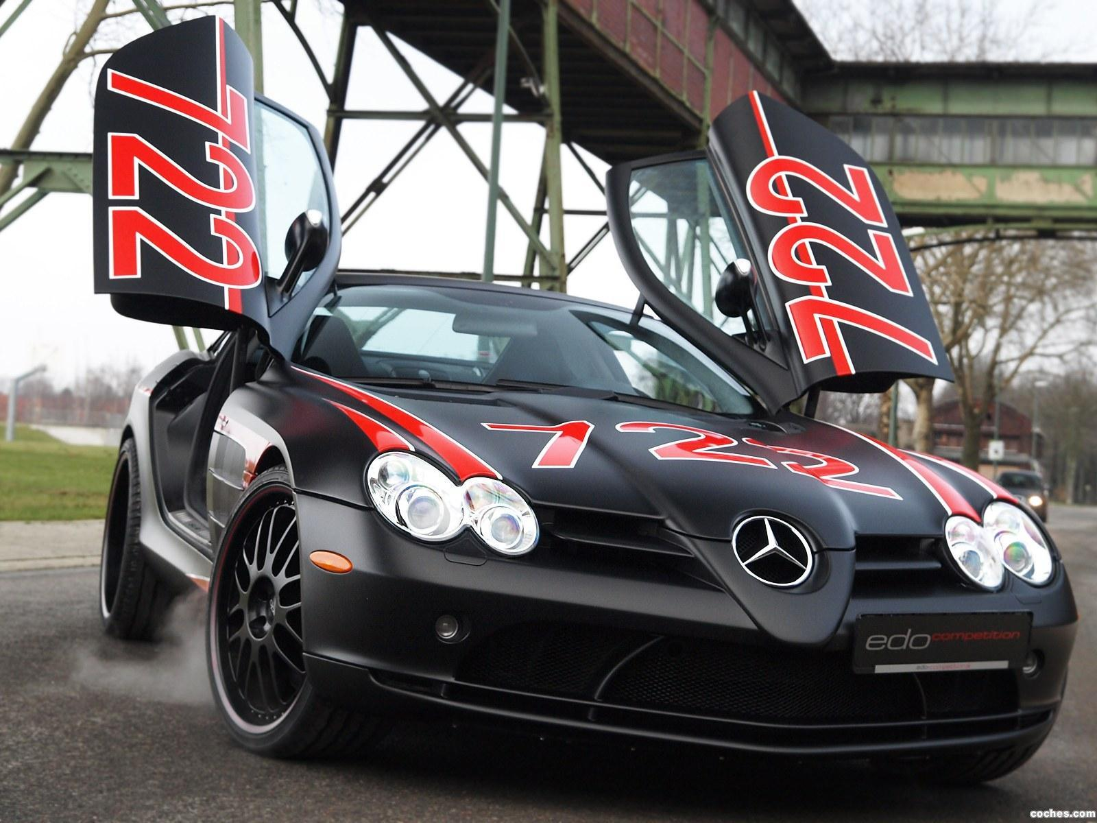 Foto 0 de Mercedes Edo SLR McLaren Black Arrow C199 2011