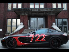 Ver foto 2 de Mercedes Edo SLR McLaren Black Arrow C199 2011