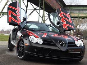 Fotos de Mercedes Edo SLR McLaren Black Arrow C199 2011