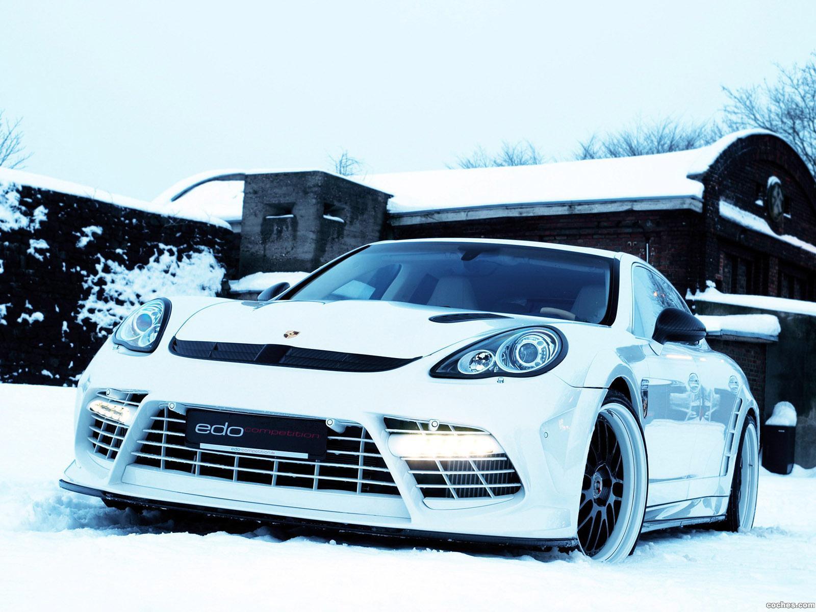 Foto 0 de Porsche edo Panamera Turbo 2011