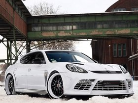 Ver foto 3 de Porsche edo Panamera Turbo 2011