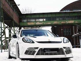 Ver foto 2 de Porsche edo Panamera Turbo 2011