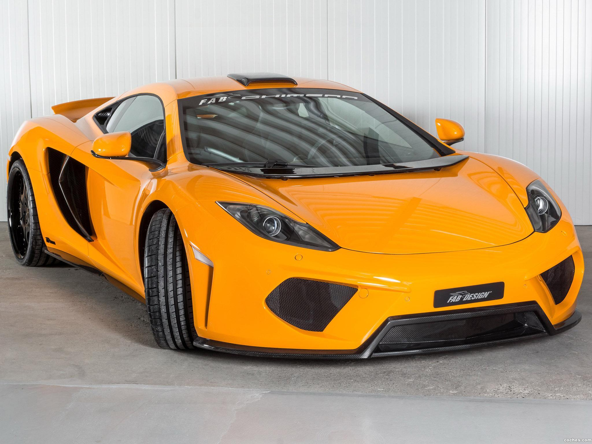 Foto 0 de FAB Design McLaren MP4-12C Chimera 2013