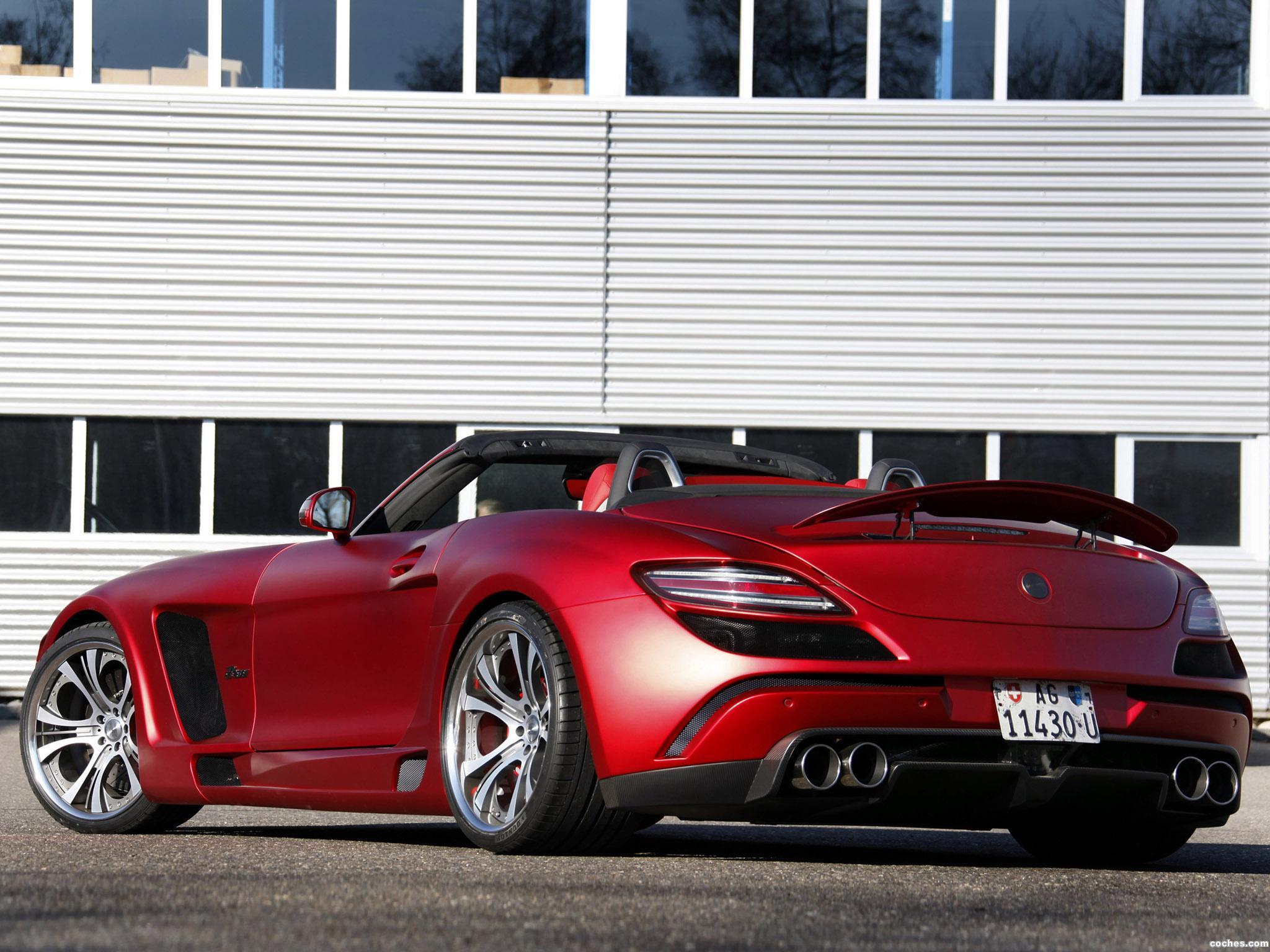 Foto 1 de FAB Design Mercedes SLS63 AMG Roadster Jetstream R197 2012