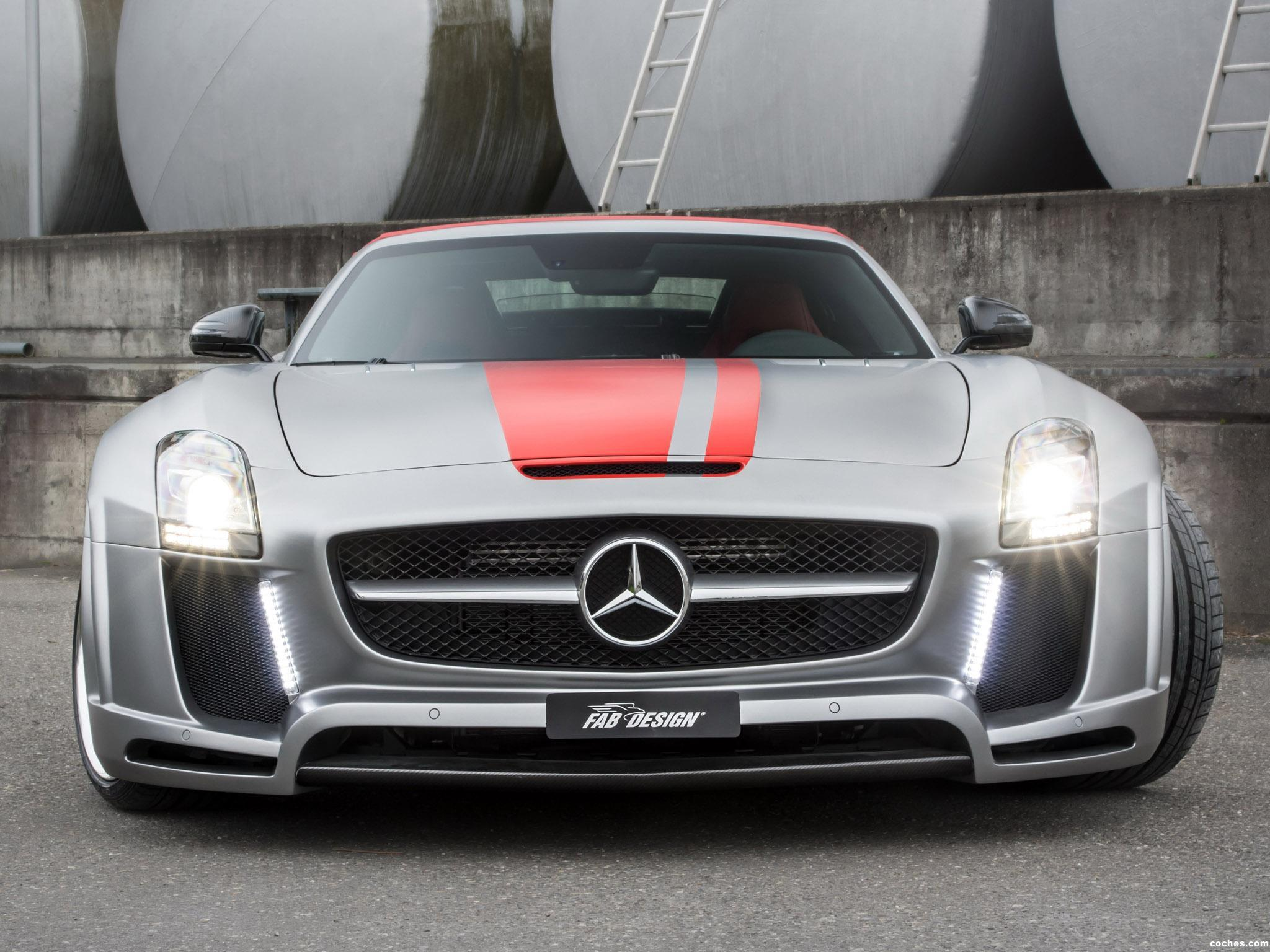 Foto 0 de FAB Design Mercedes SLS63 AMG Roadster Jetstream R197 2012