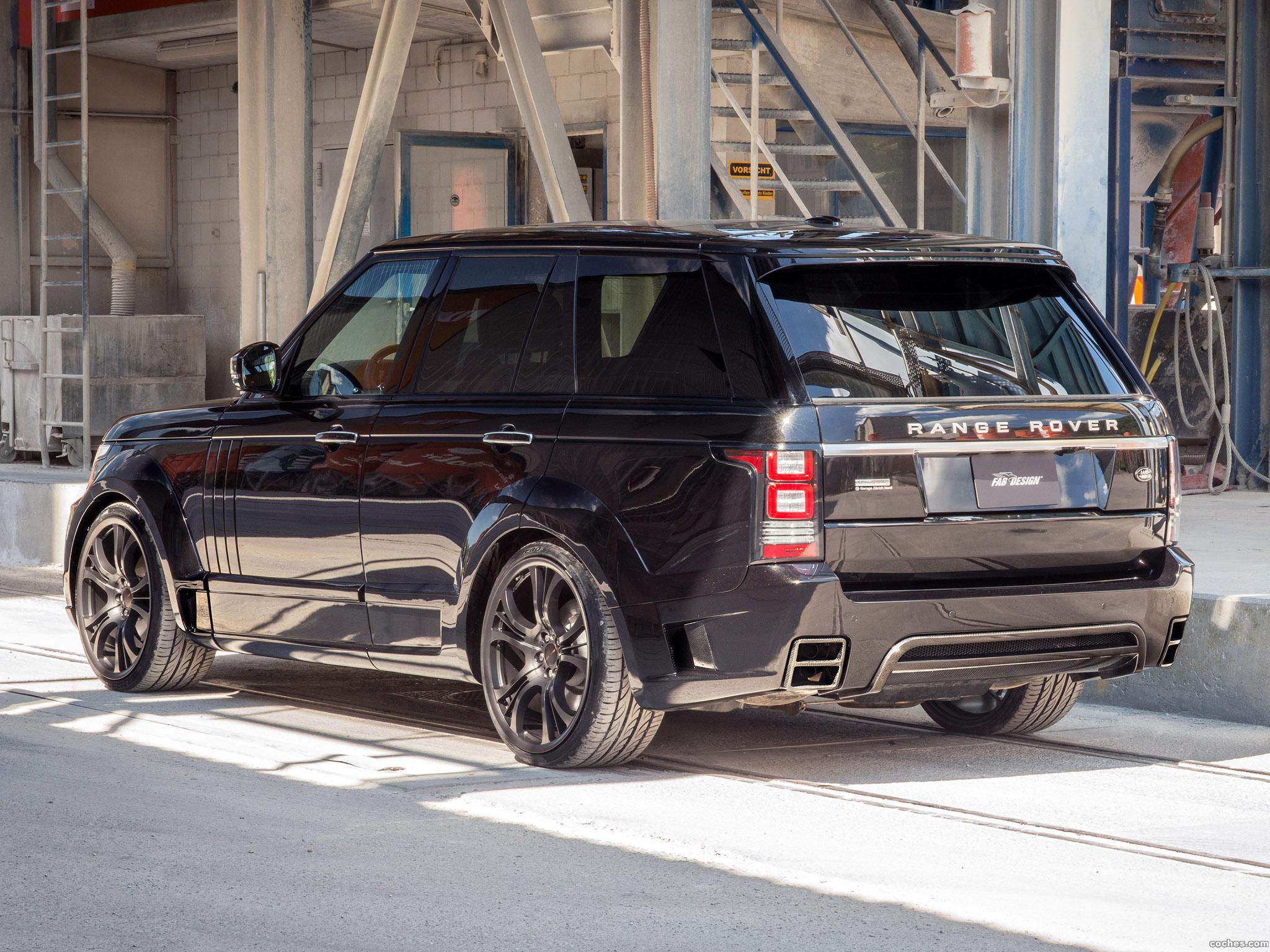 Foto 4 de FAB Design Land Rover Range Rover Noreia L405 2014