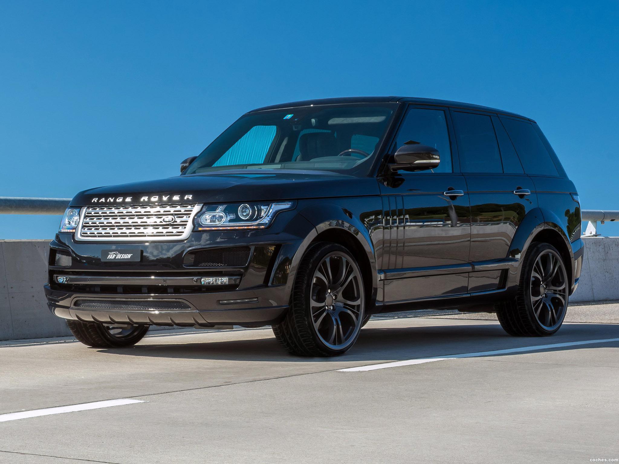 Foto 1 de FAB Design Land Rover Range Rover Noreia L405 2014