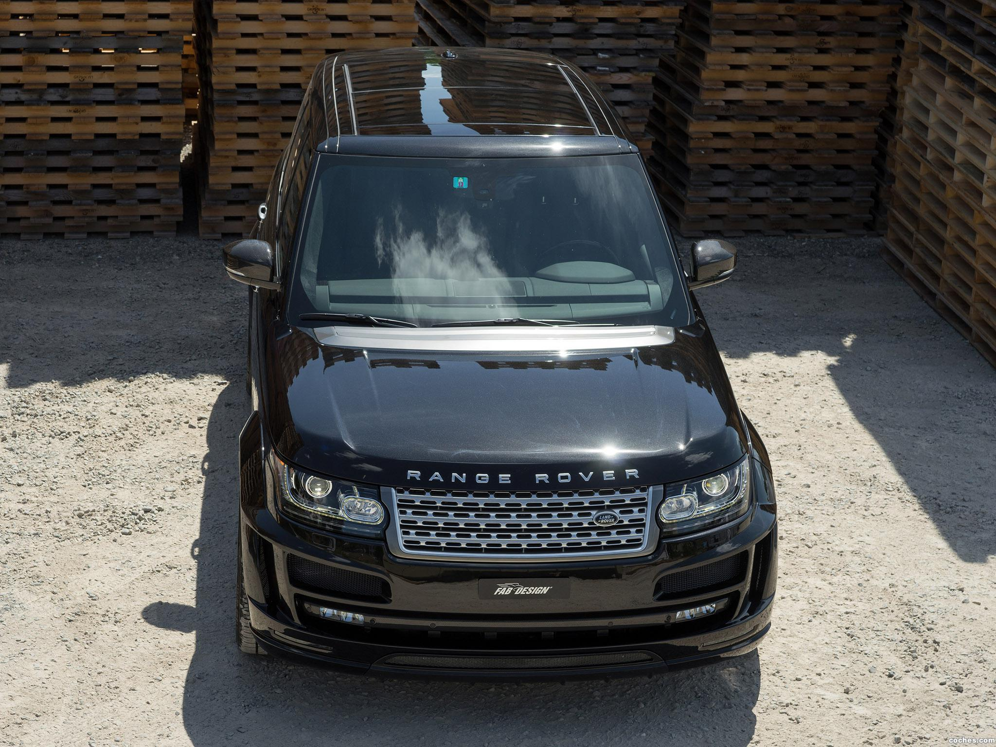 Foto 12 de FAB Design Land Rover Range Rover Noreia L405 2014