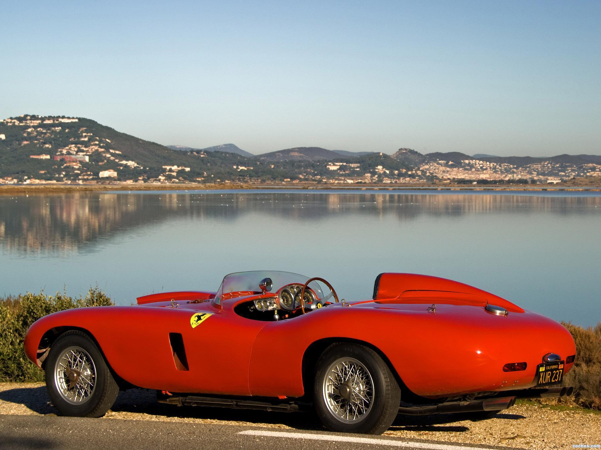 Foto 1 de Ferrari 121LM Scaglietti Spider 1955
