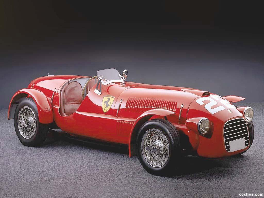 Foto 0 de Ferrari 166 Spyder Corsa 1948