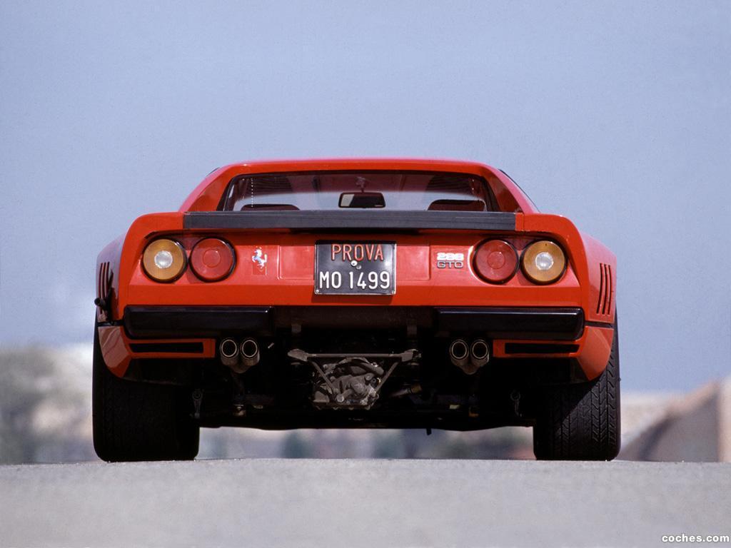 Foto 1 de Ferrari 288 GTP Prototype 1984