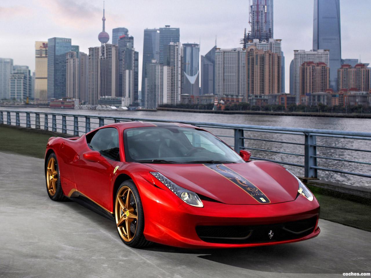 Foto 0 de Ferrari 458 Italia China Special Edition 2012