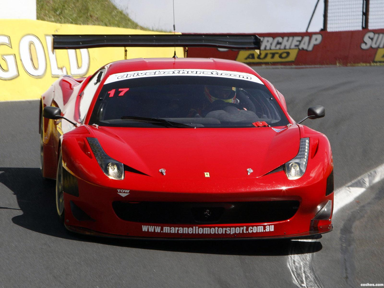 Foto 0 de Ferrari 458 Italia GT3 2011