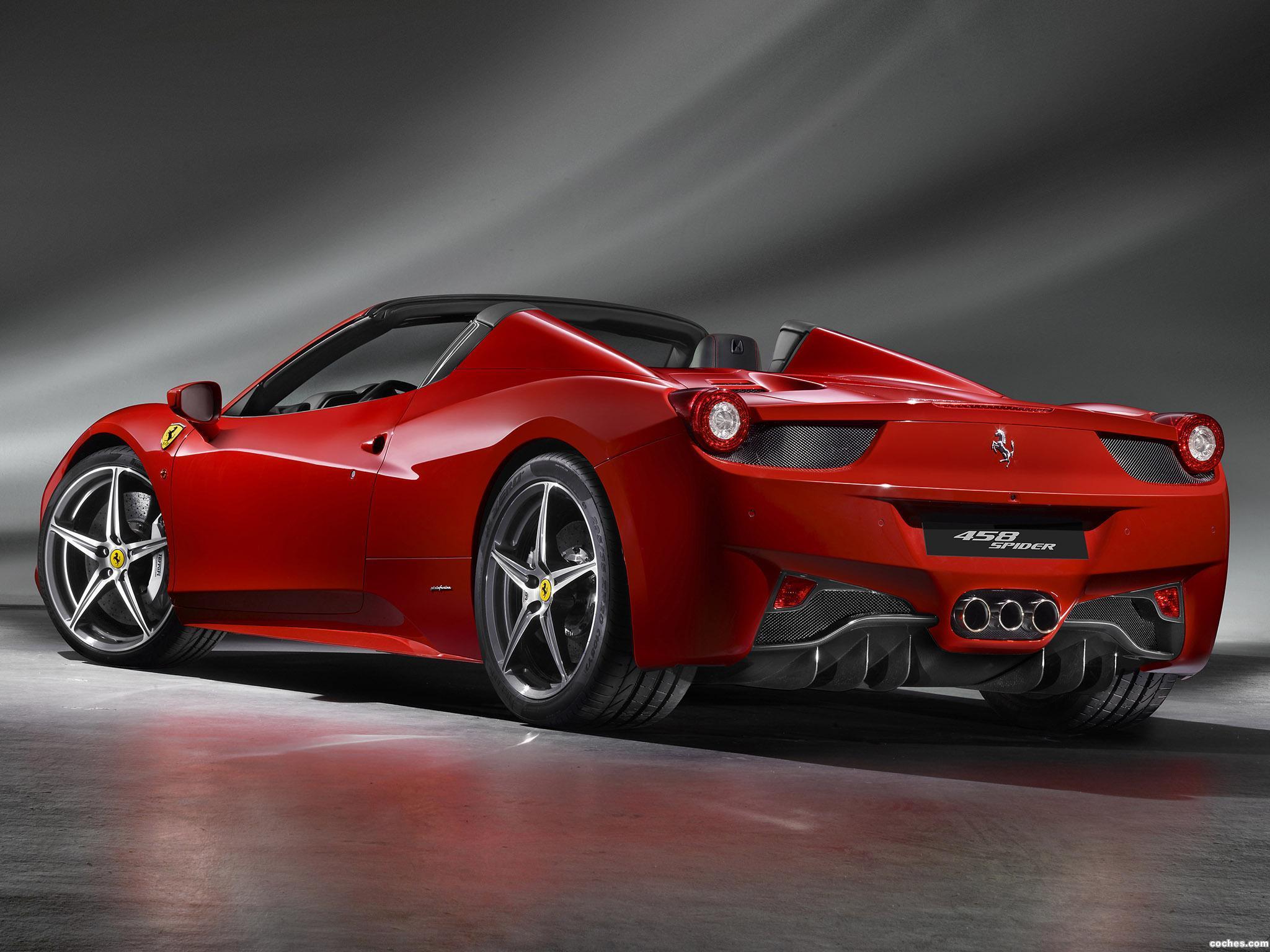 Foto 3 de Ferrari 458 Spider 2011
