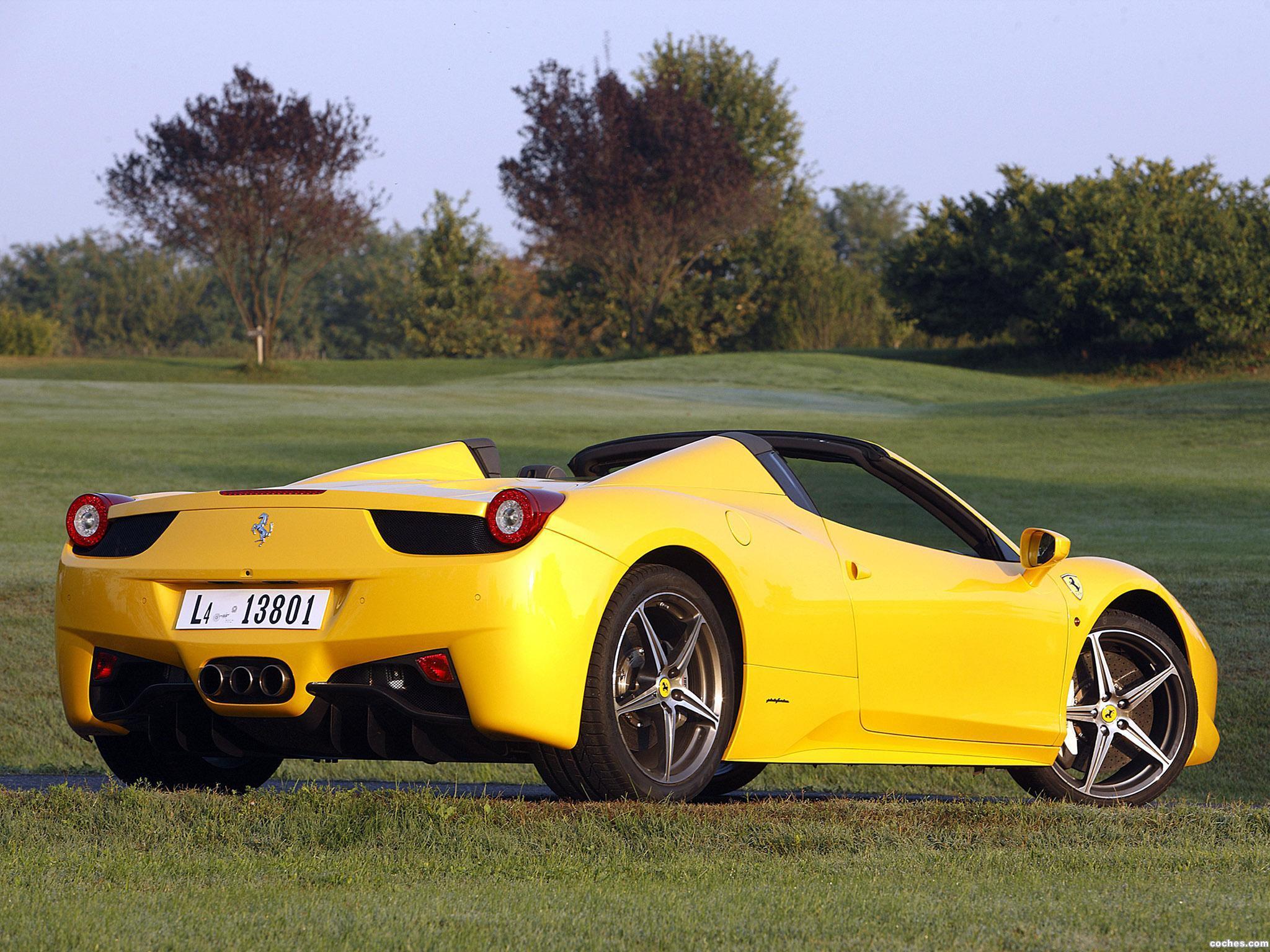 Foto 28 de Ferrari 458 Spider 2011
